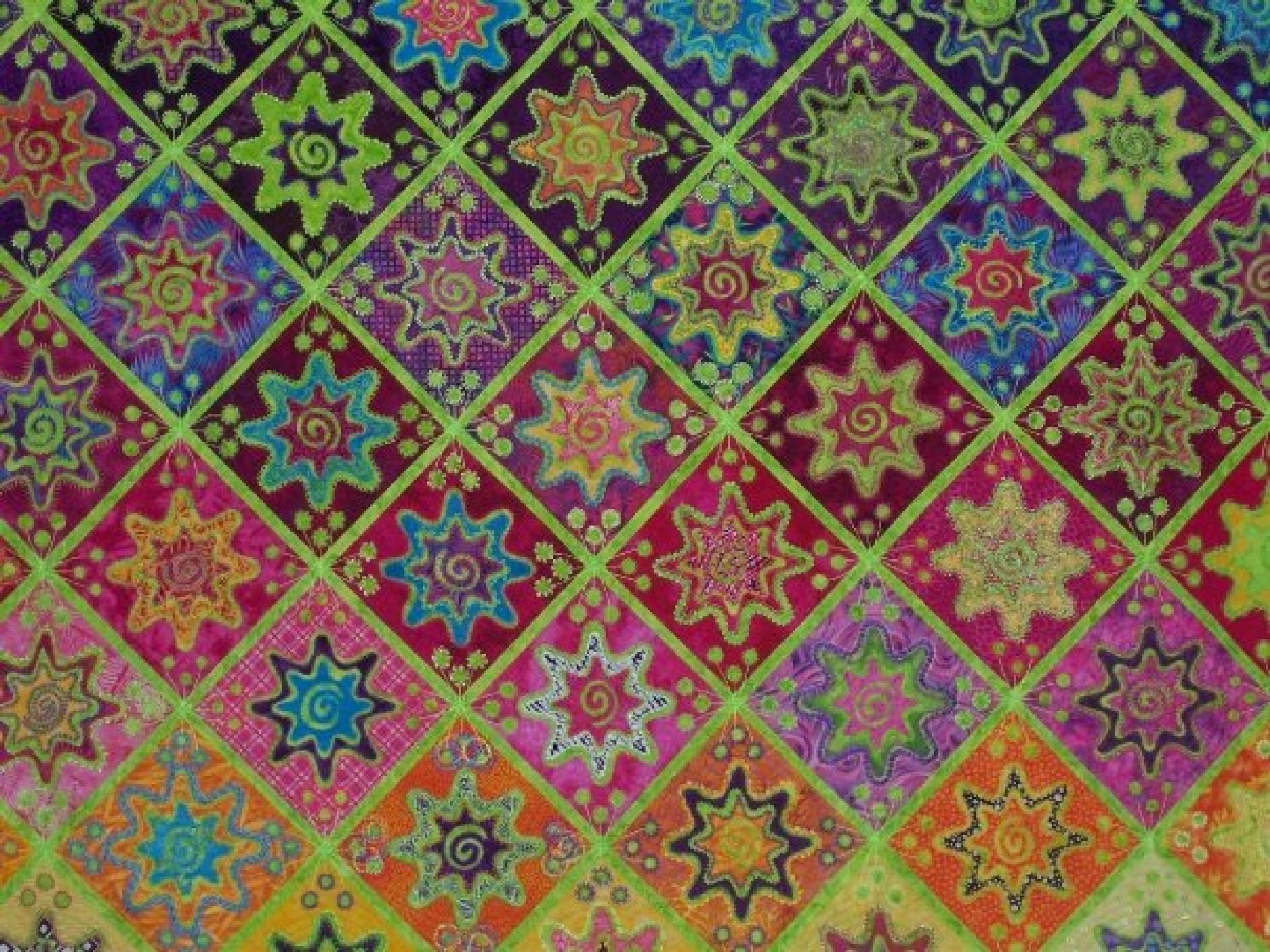 Star quilt by lrichardswascher