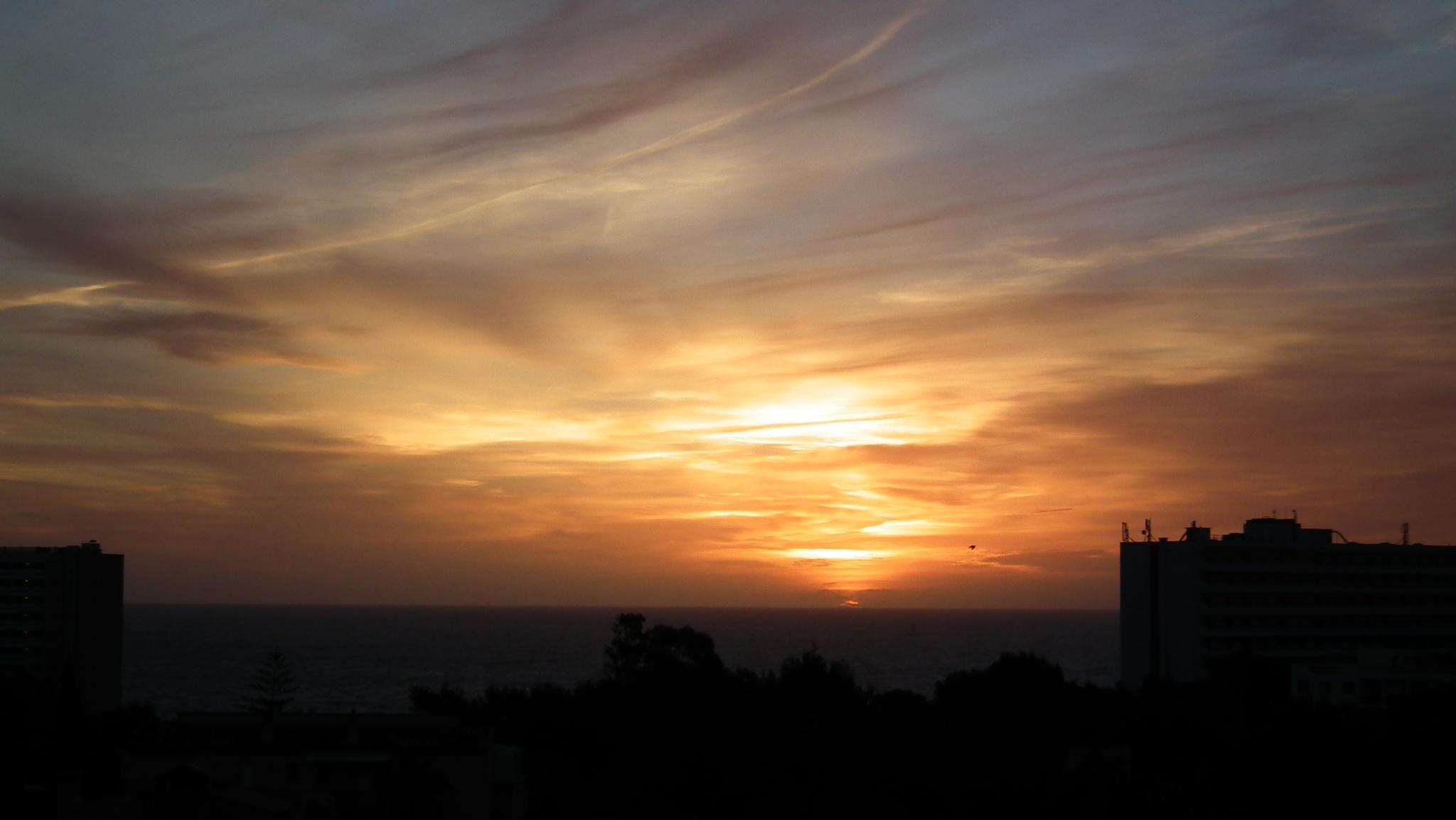 sunset over the med by graham.drew.90