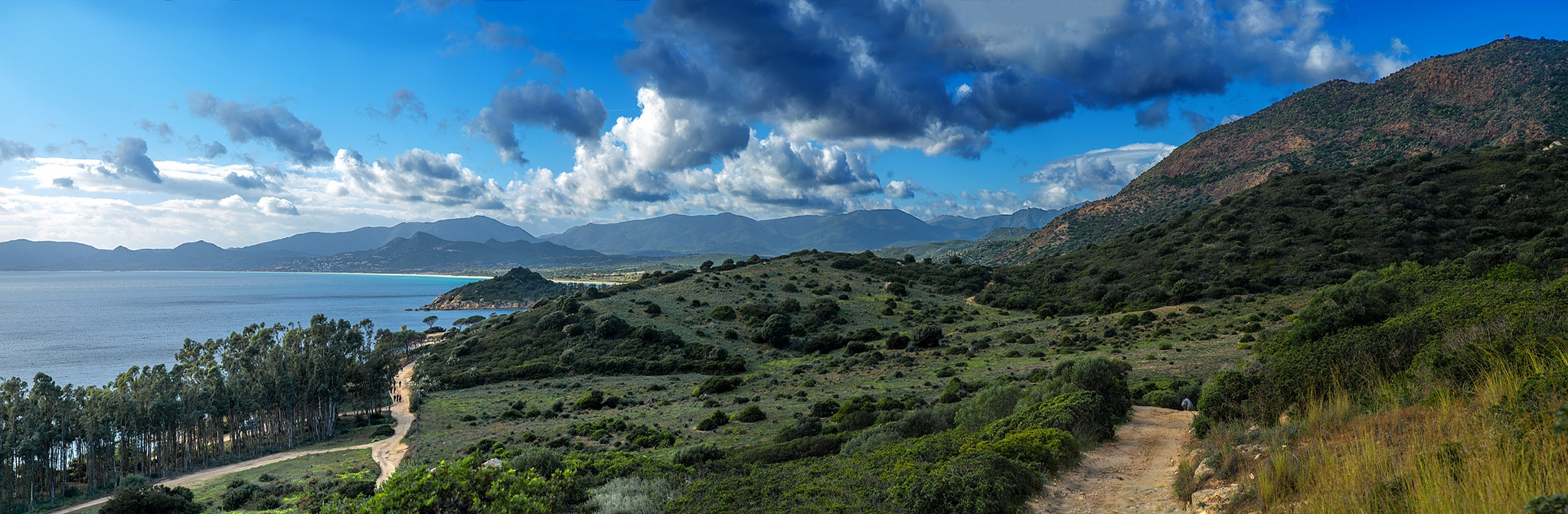 Photo in Landscape #capo ferrato #costa rei #sardinia #seascape #landscape #winter