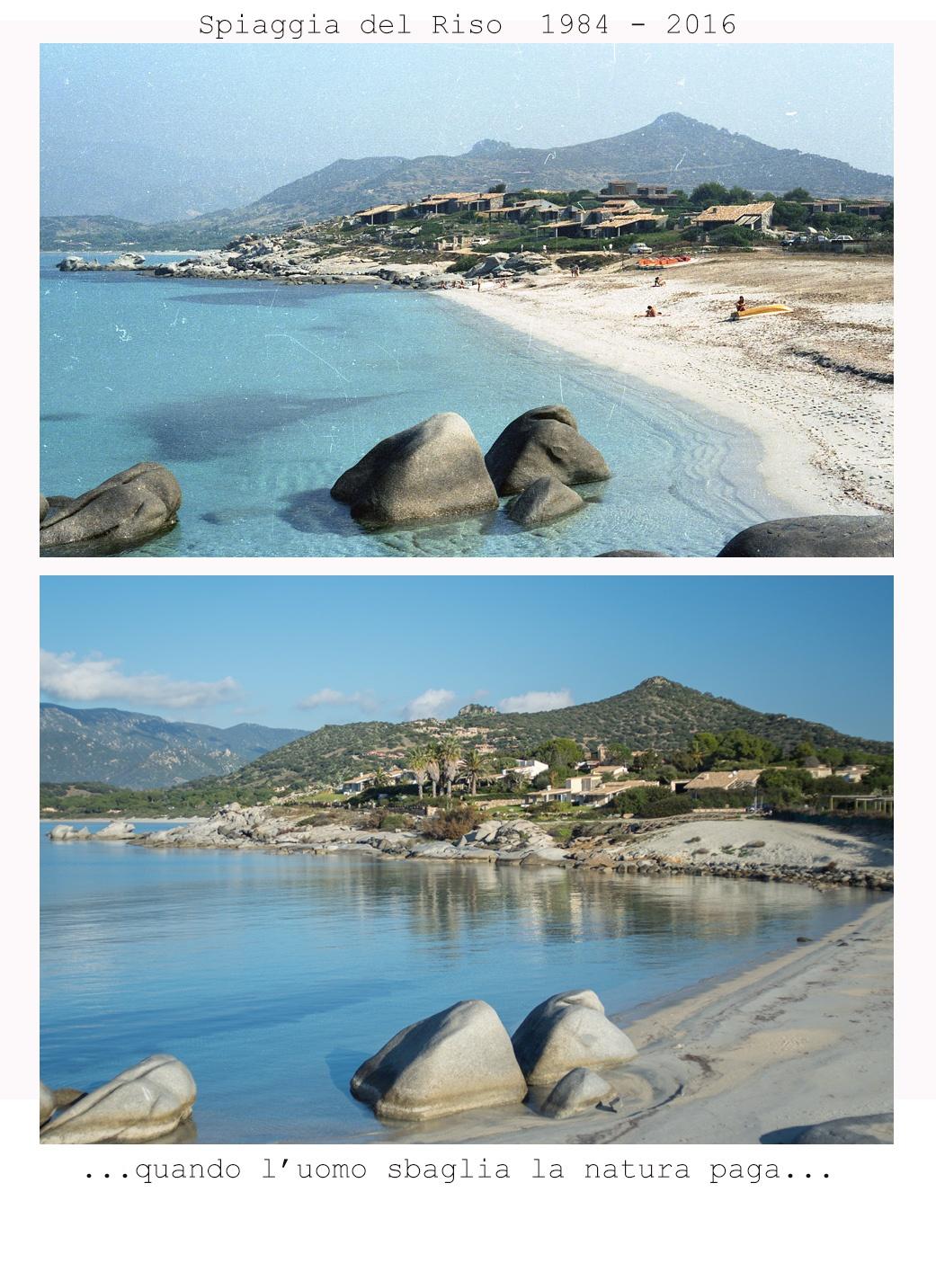 Photo in Landscape #sardinia #villasimius #spiaggia del riso #1984-2016 #nature #mistakes #human mistakes