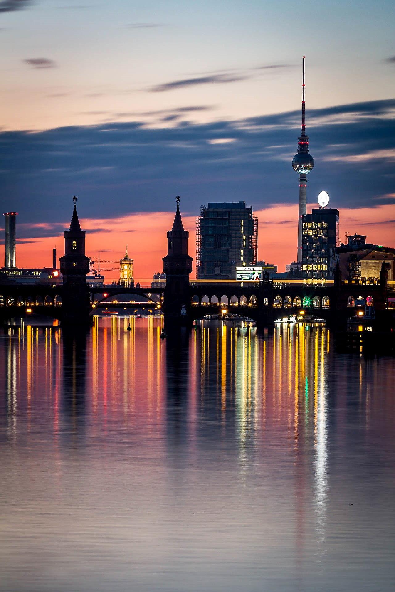 Berlin sunset by JeckstadtPhotography