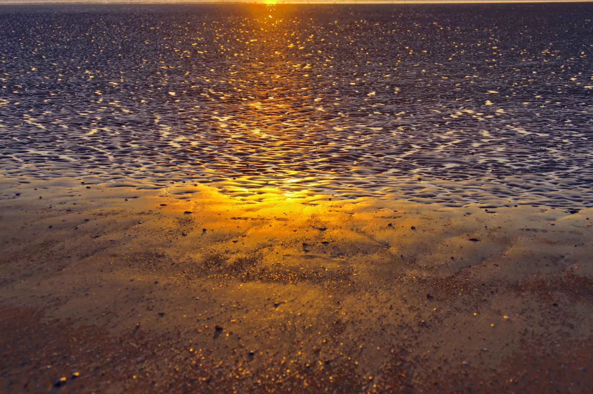 sundown in the watt by RIwanowski