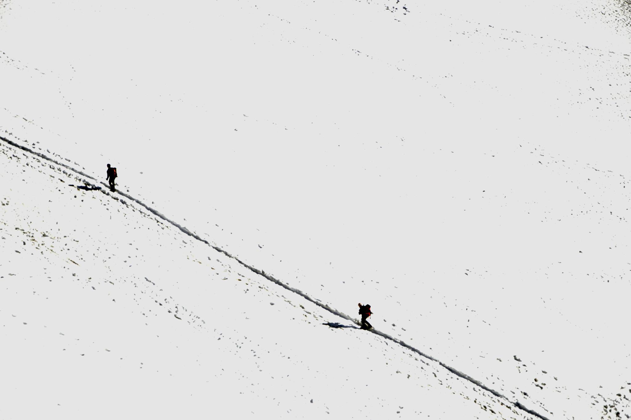 CAMMINARE NEL BIANCO by lorena.rinaudo.9