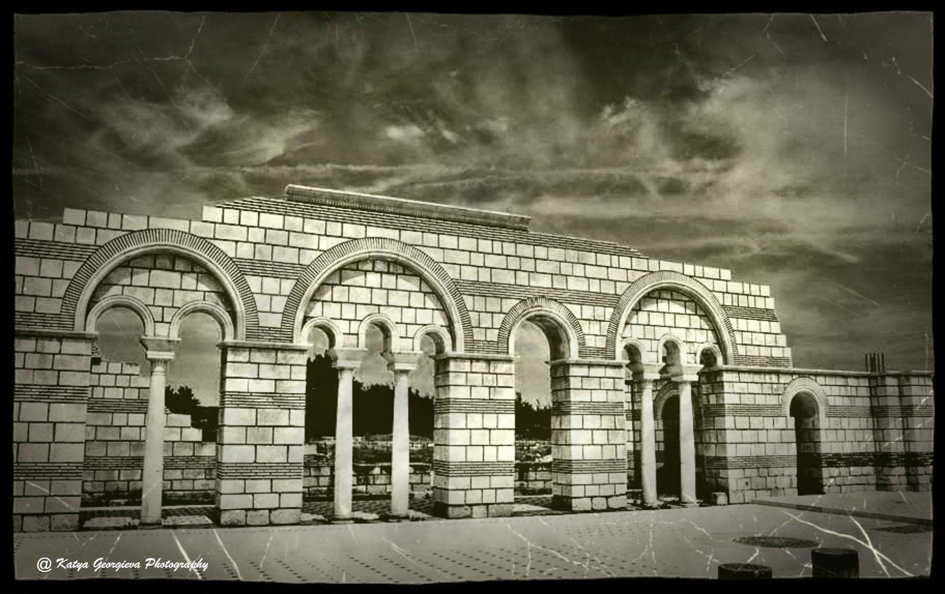 Pliska (Bulgarian: Плиска, ) is the name of both the first capital of the First Bulgarian Empire . by Katya Georgieva Photography