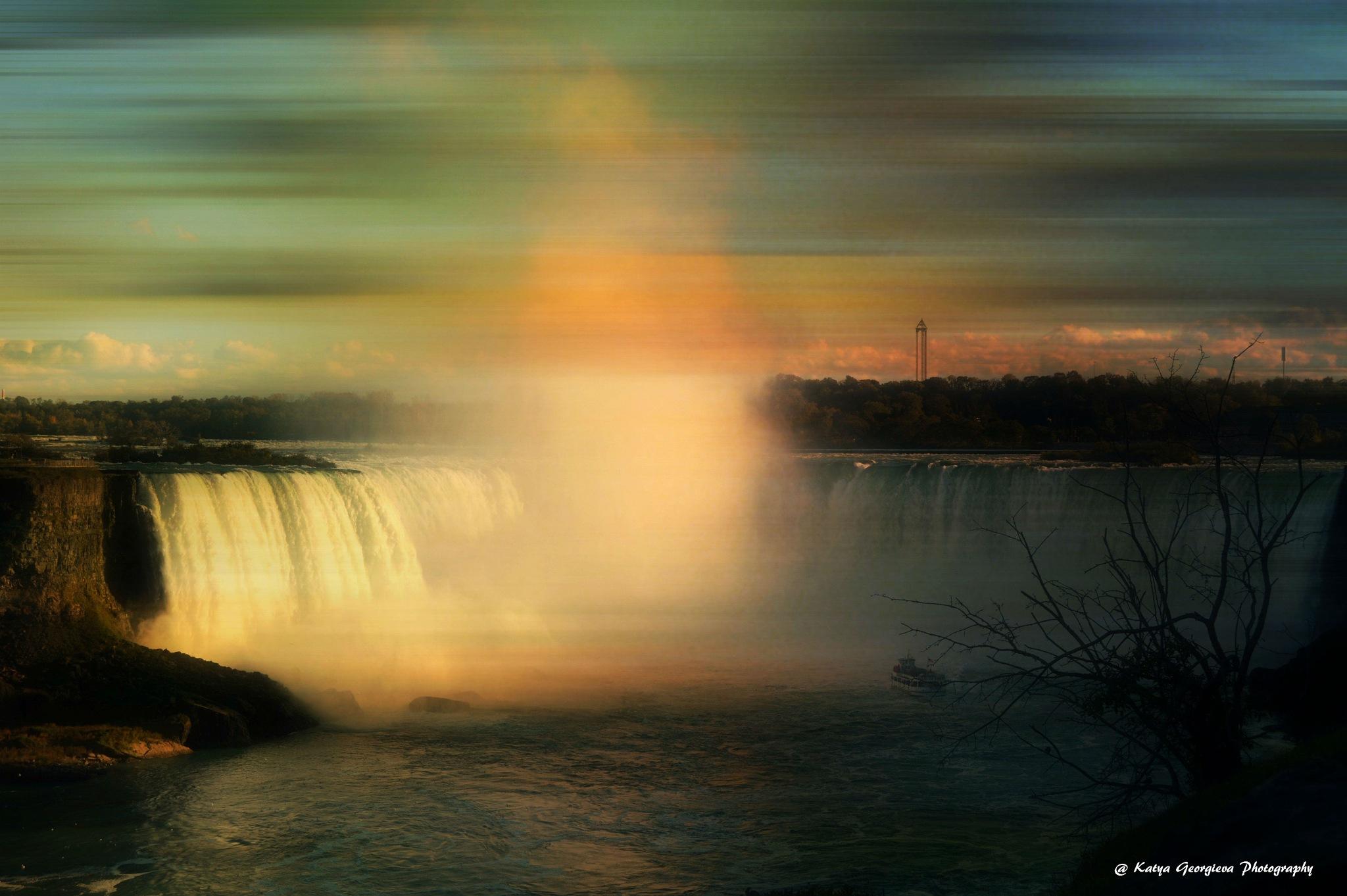 Niagara Falls Ontario  by Katya Georgieva Photography