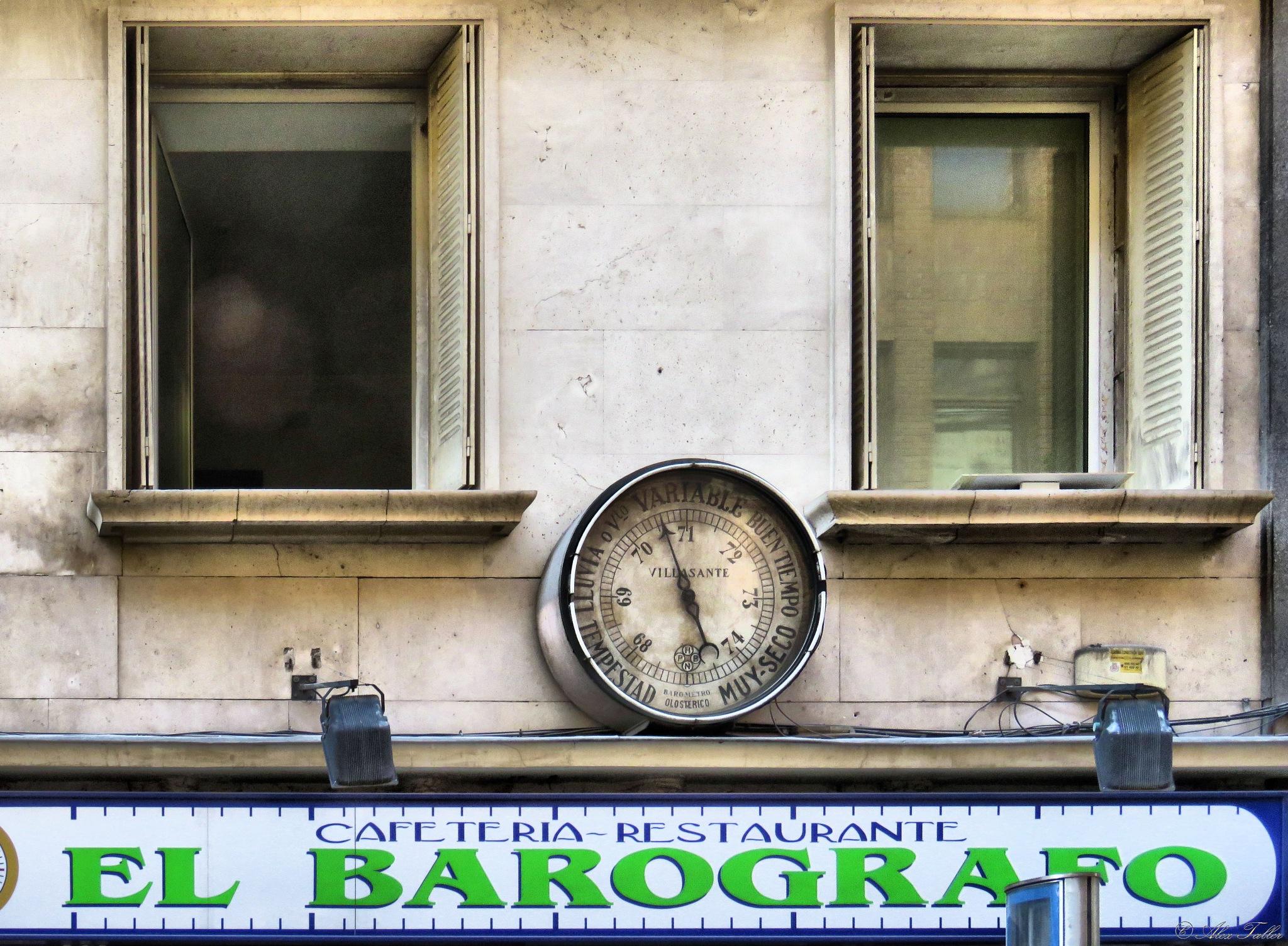 El Barografo by +Alex Taller