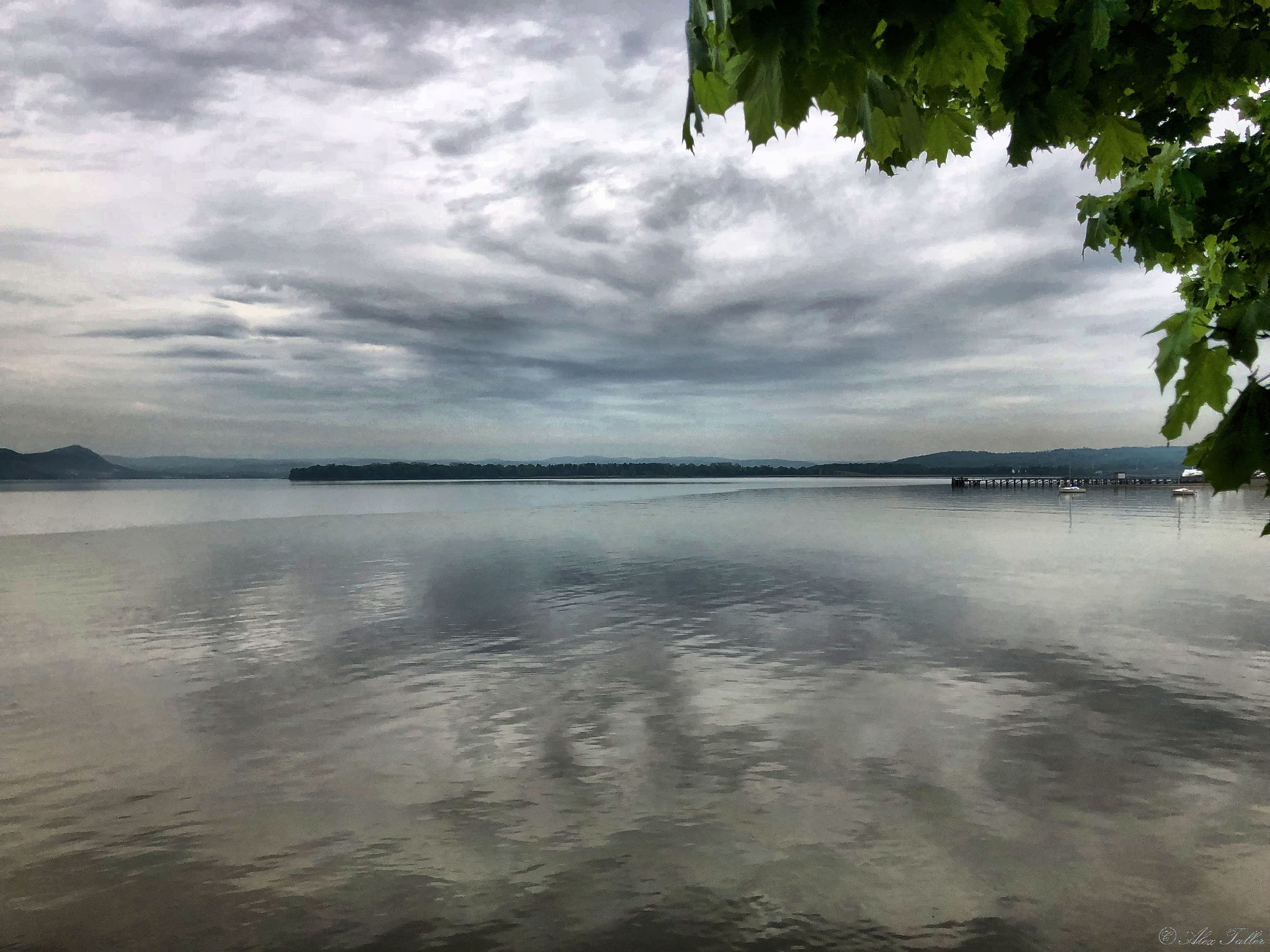 Clouds above the Hudson by +Alex Taller