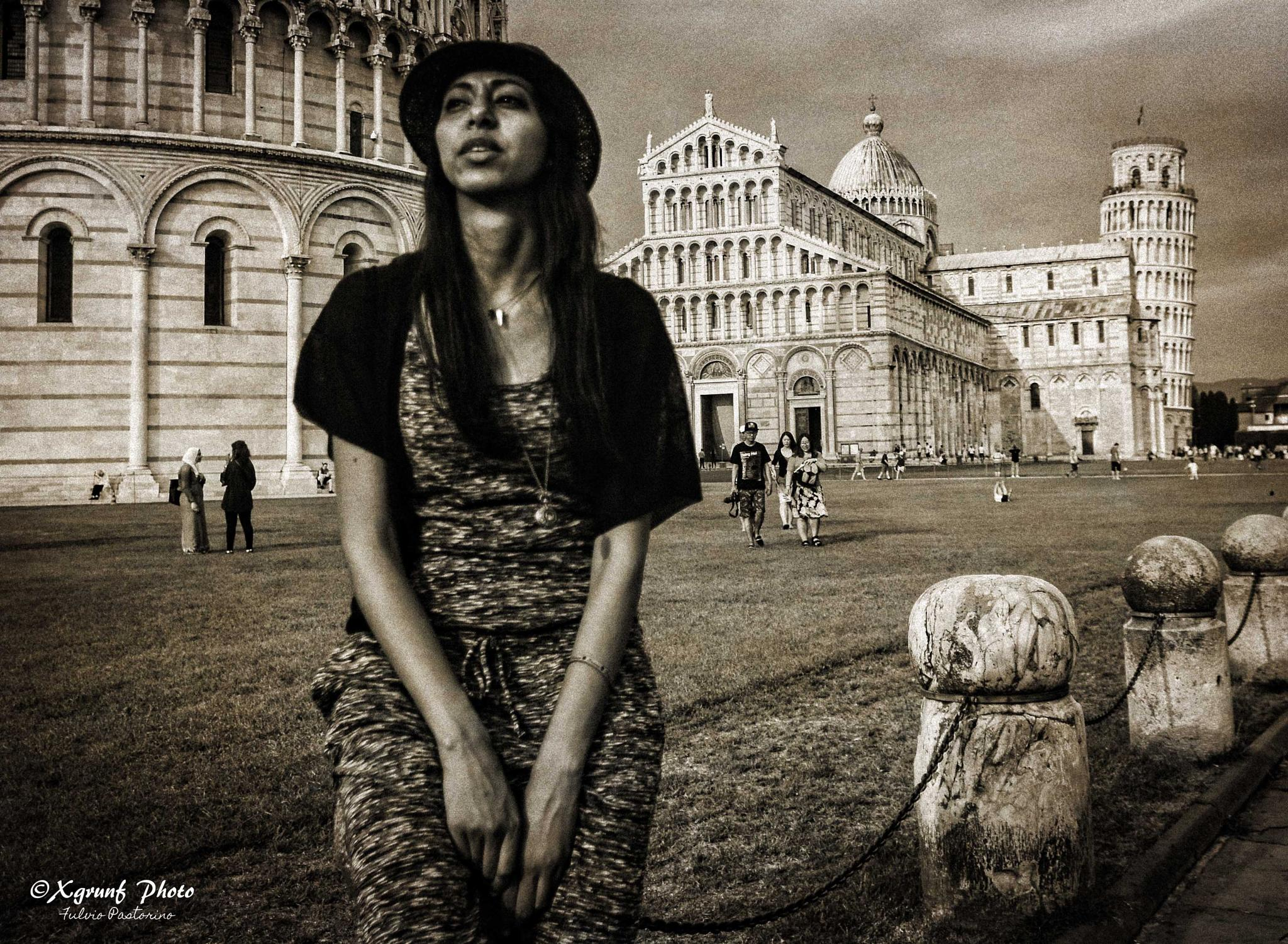 The Lady and the Tower by fulvio.pastorino