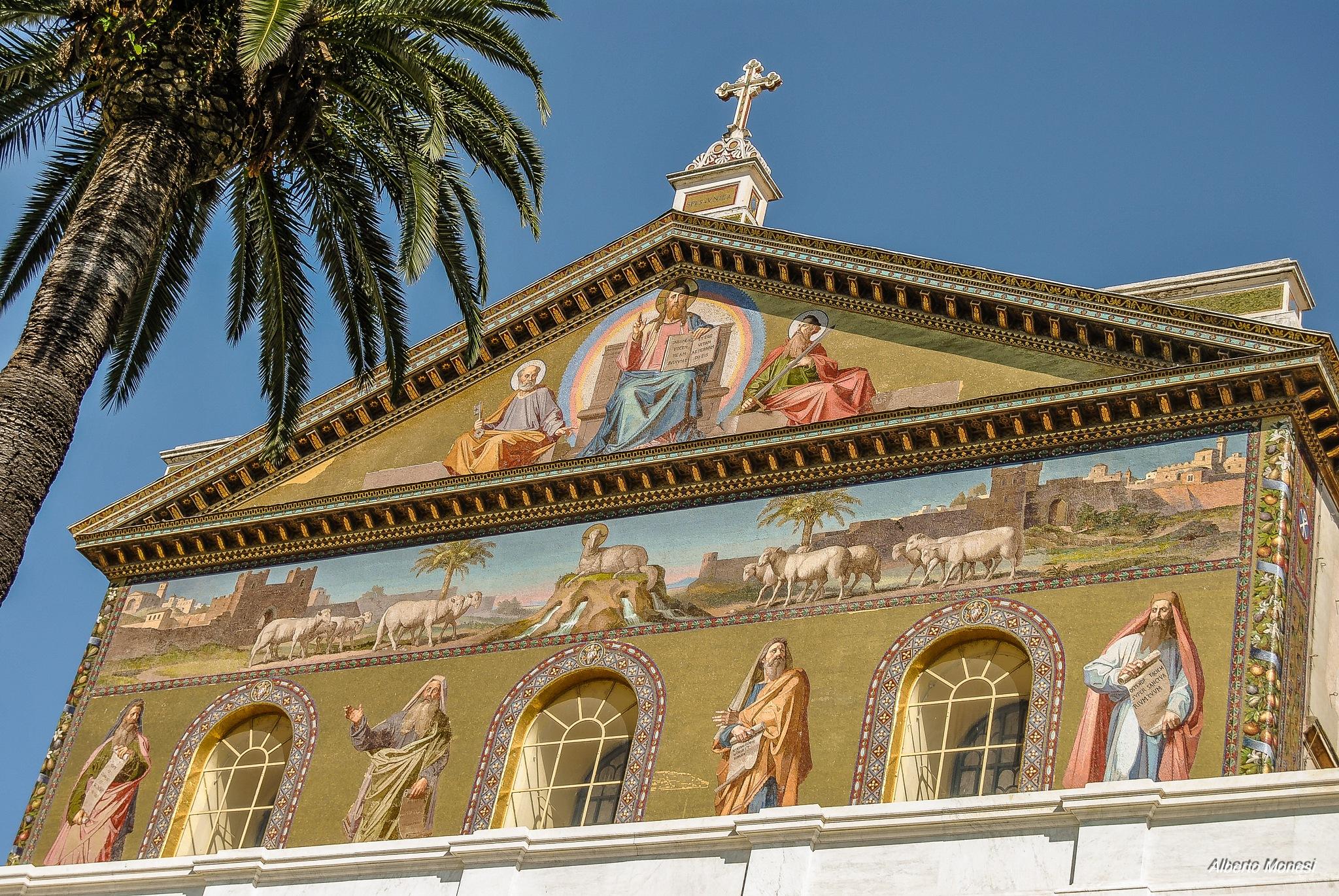 San Paolo fuori le mura by Alberto Monesi
