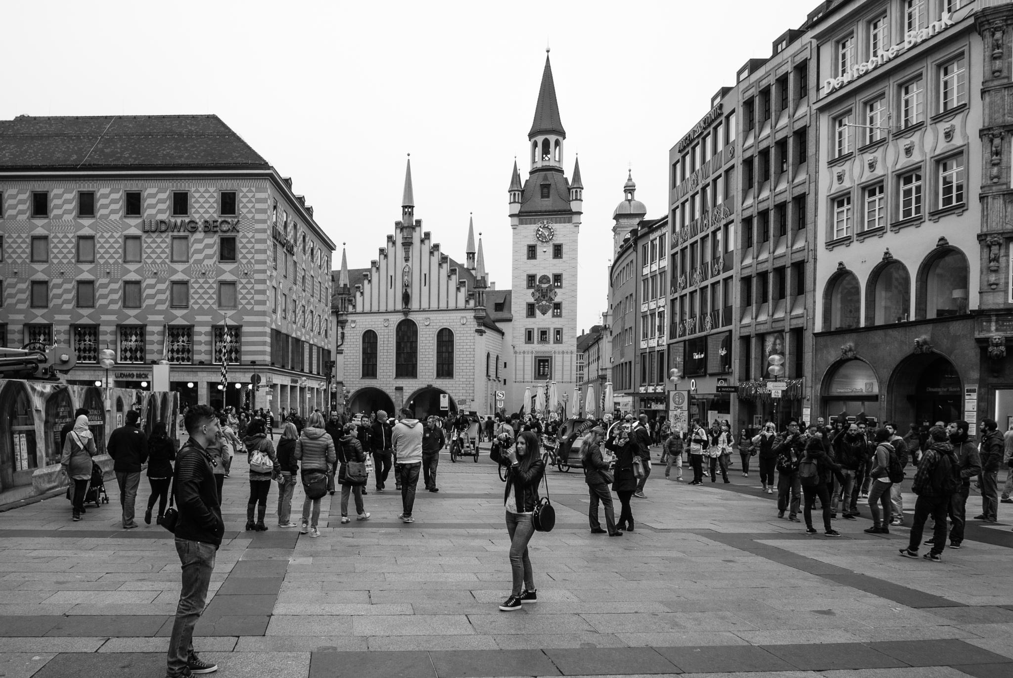 Photo in Street Photography #street photography #black and white #people