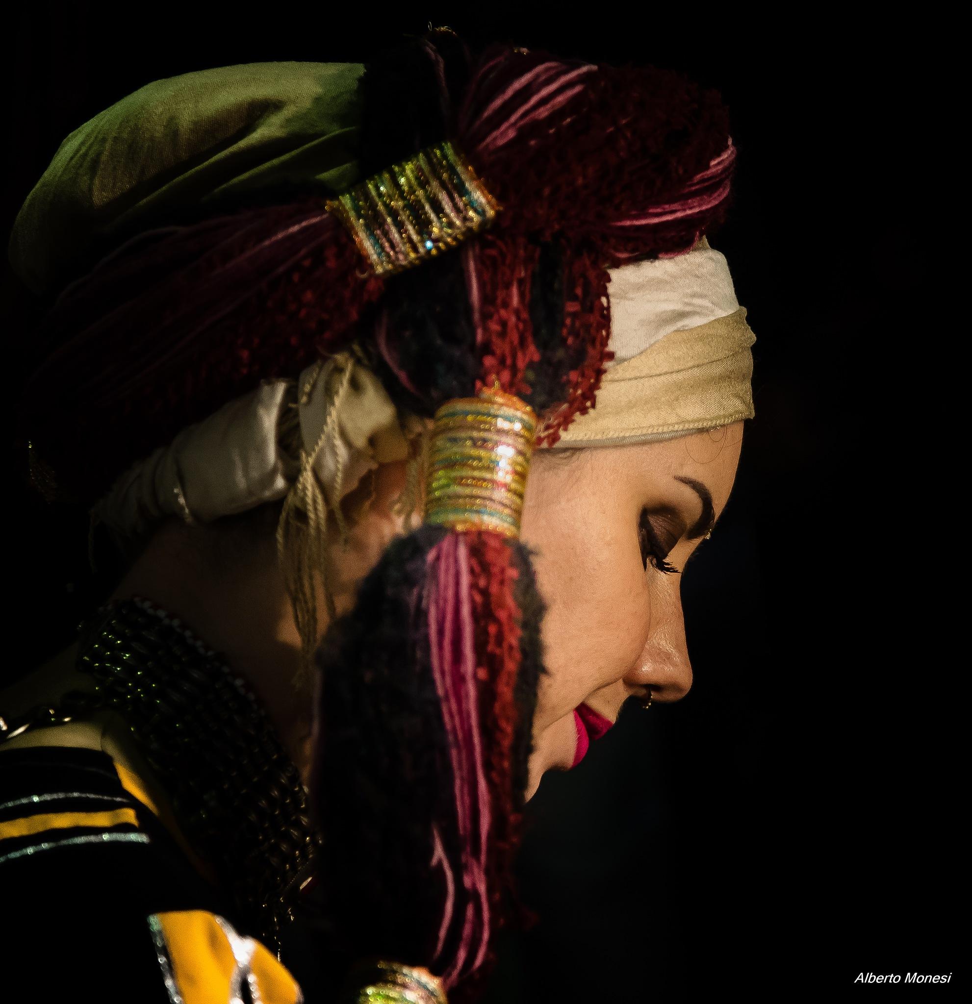 ritratto di donna by Alberto Monesi