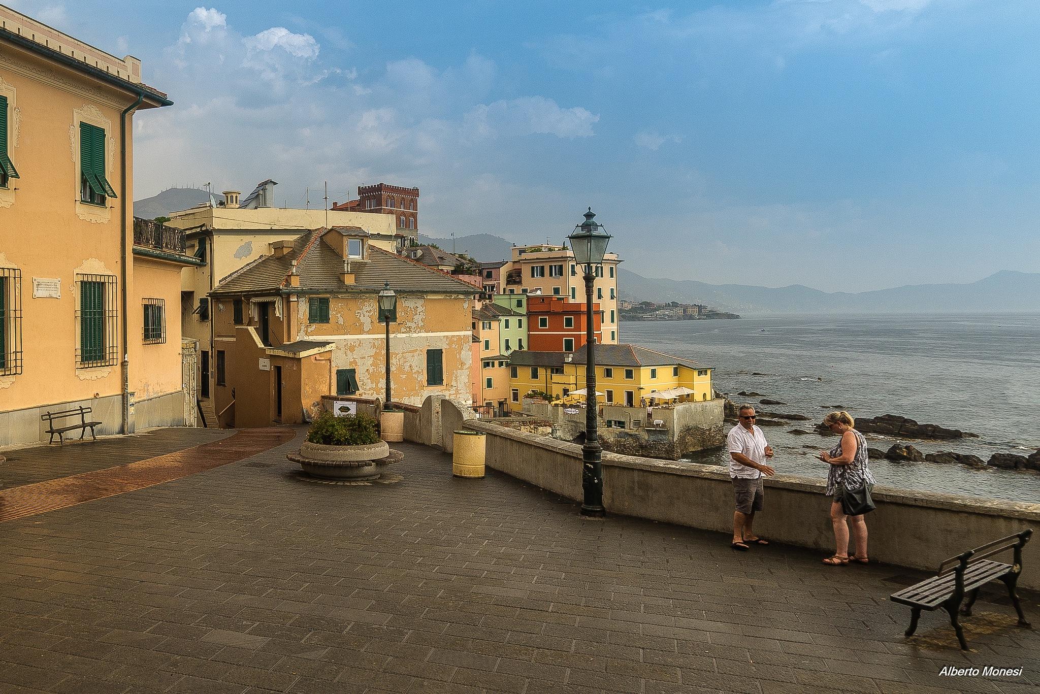 Genova Boccadasse by Alberto Monesi