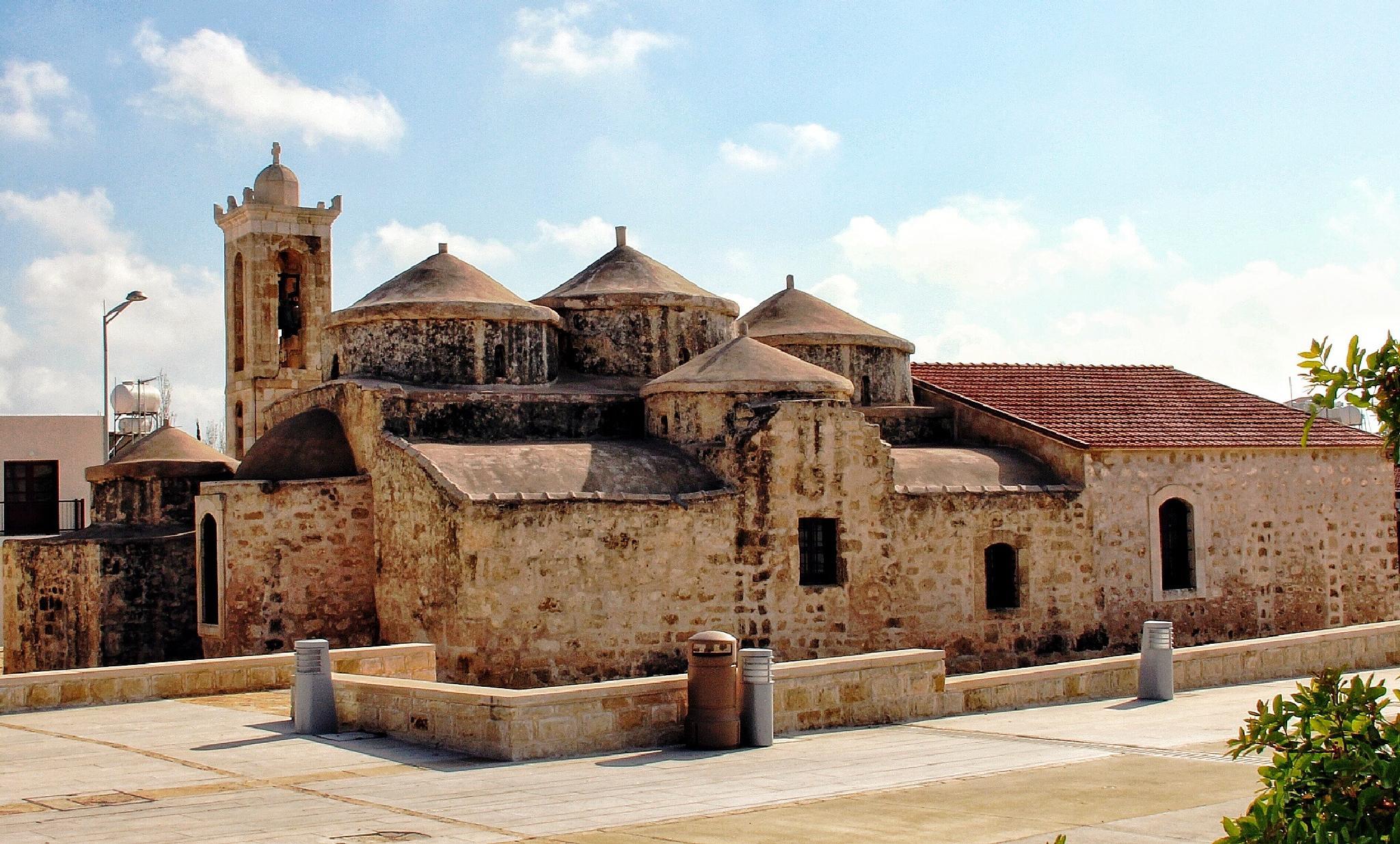 The old church , Geriskipou , Cyprus by Gayle