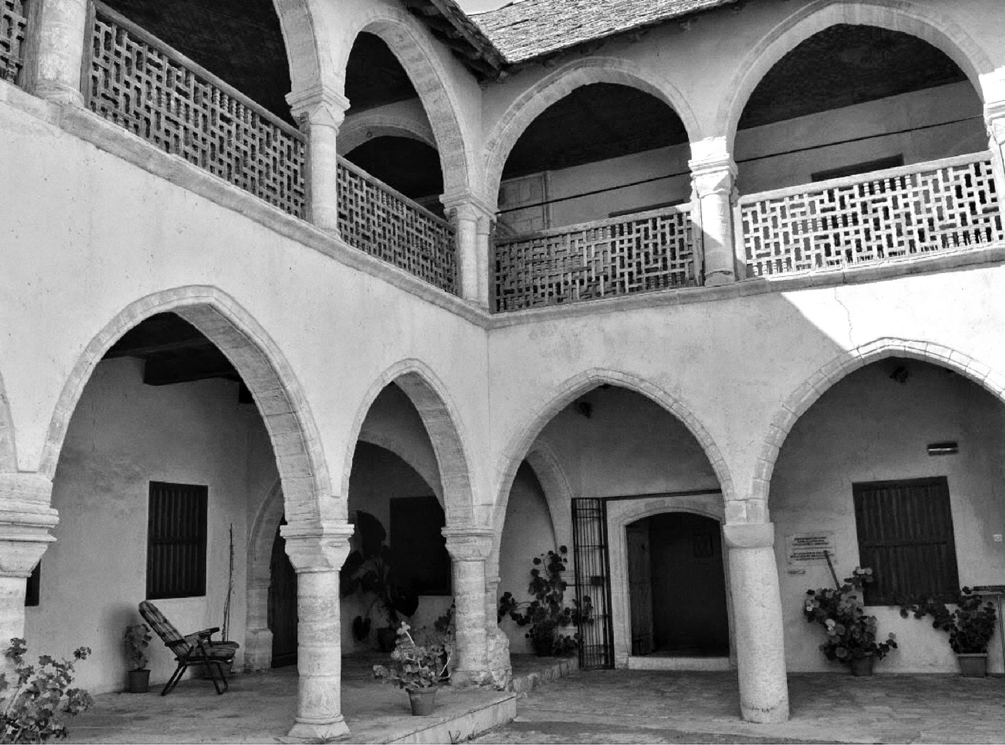 Omodos monastery by Gayle