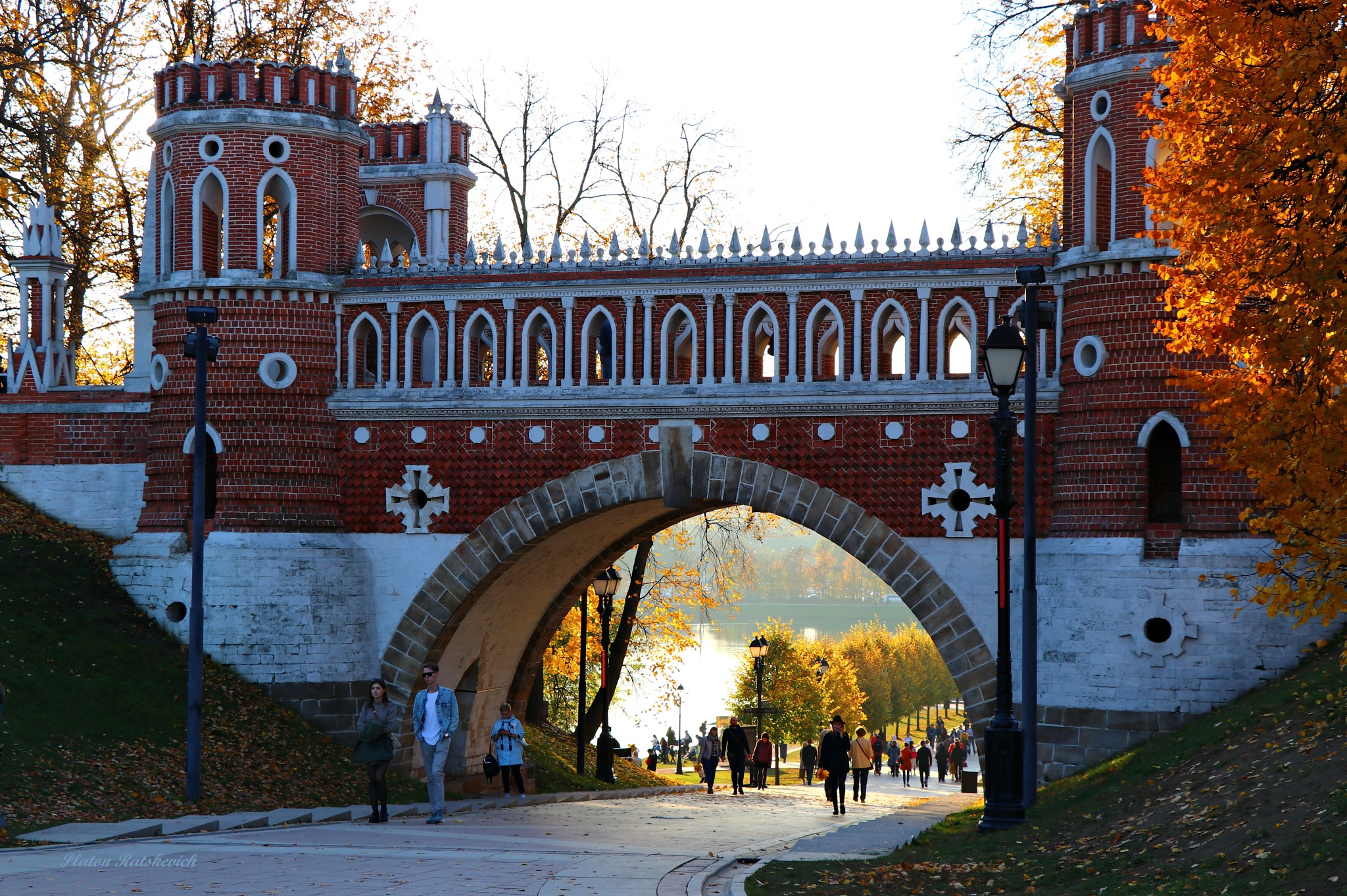 Tsaritsyno Museum-Reserve and Park, Moscow by platon.ratskevich