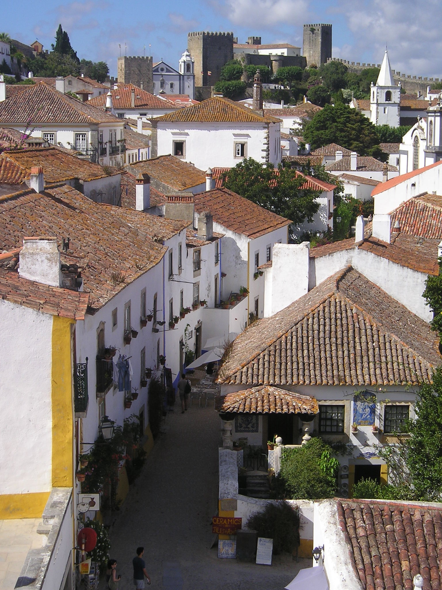 Obidos - Portugal by Claudine MACHONPEREIRA