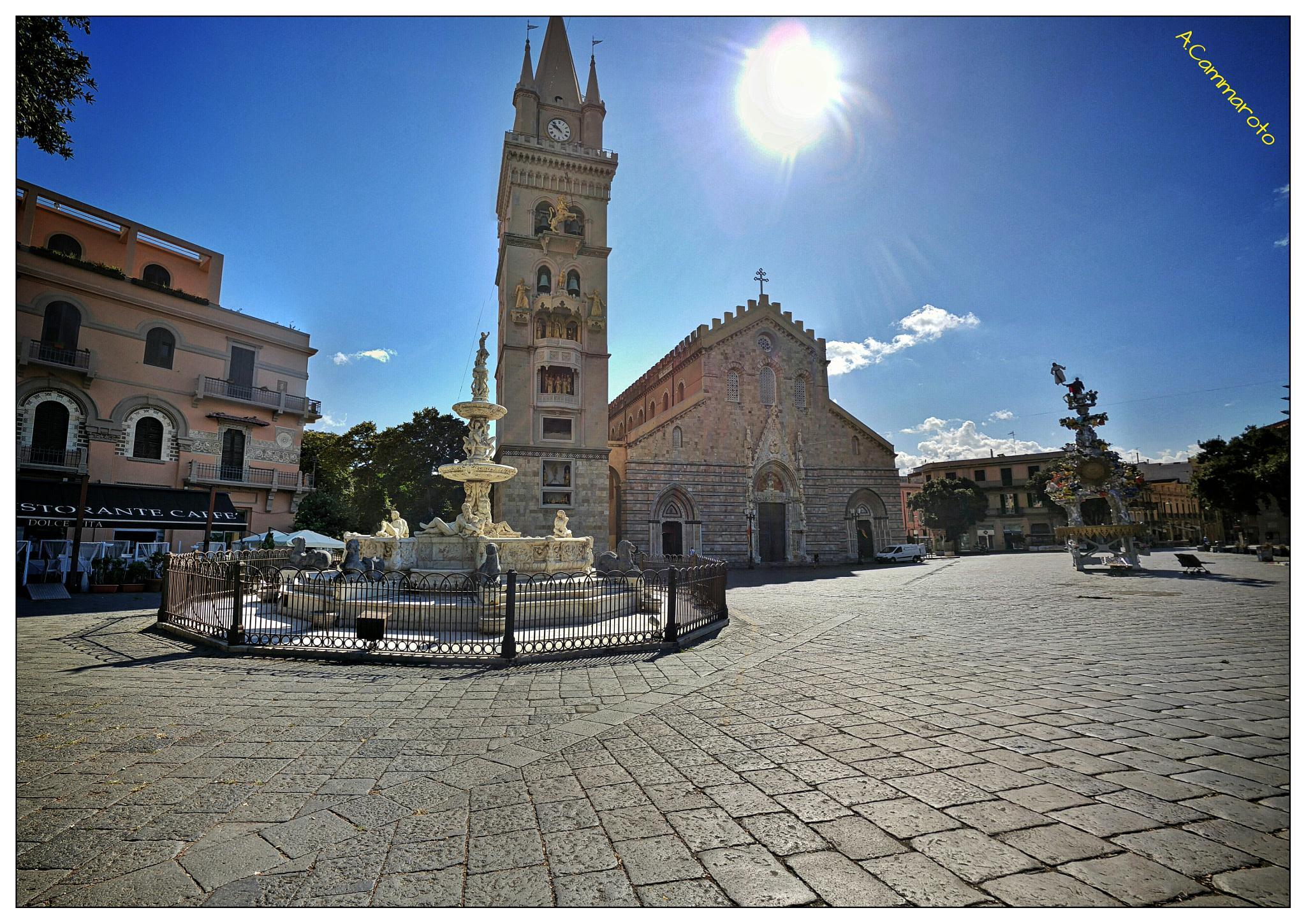 -Piazza Duomo- Messina by antonio.cammaroto.64