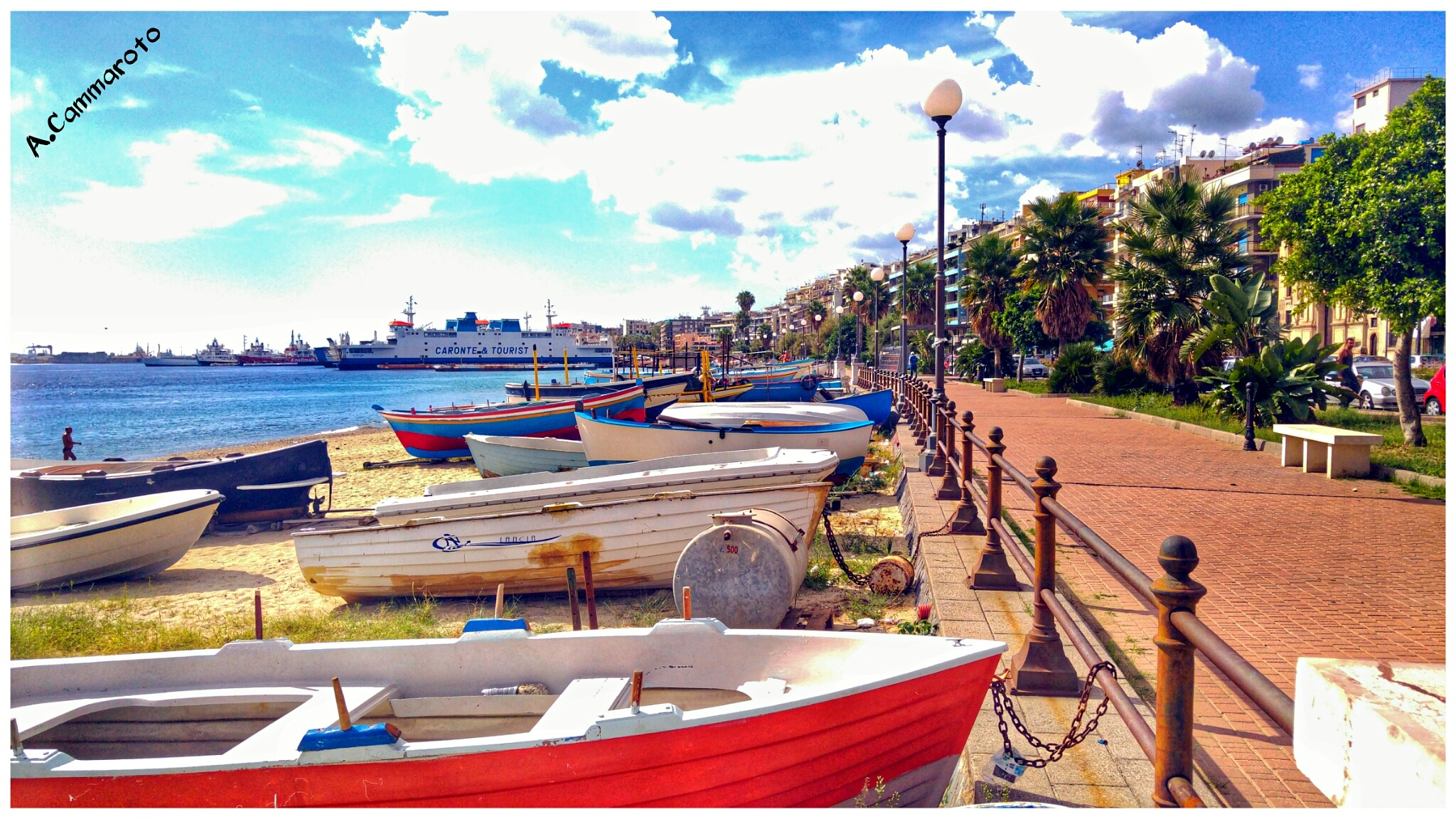 Seafront -Messina by antonio.cammaroto.64