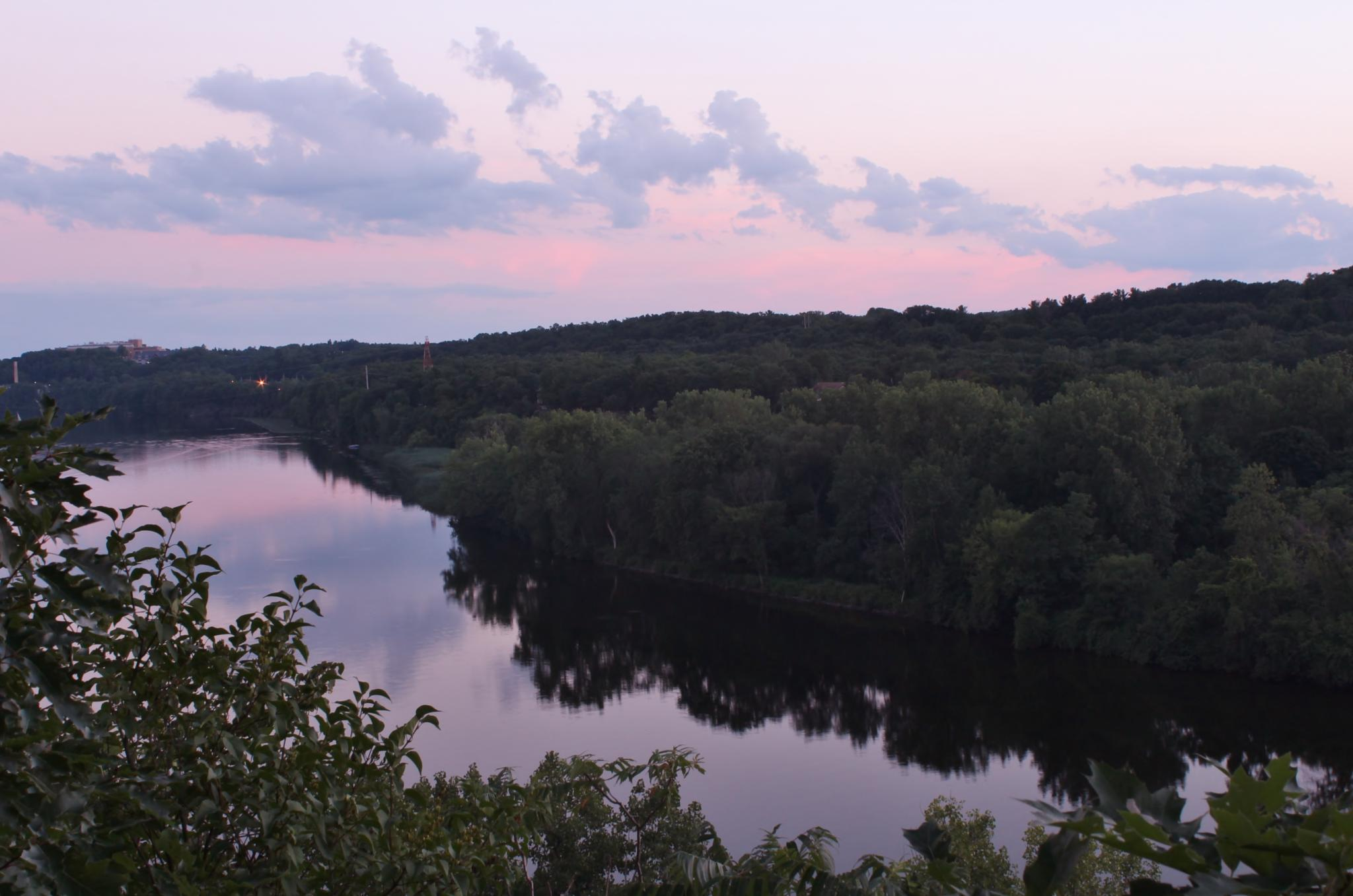 More sunset at the Mohawk River by debbie.lamontesnyder