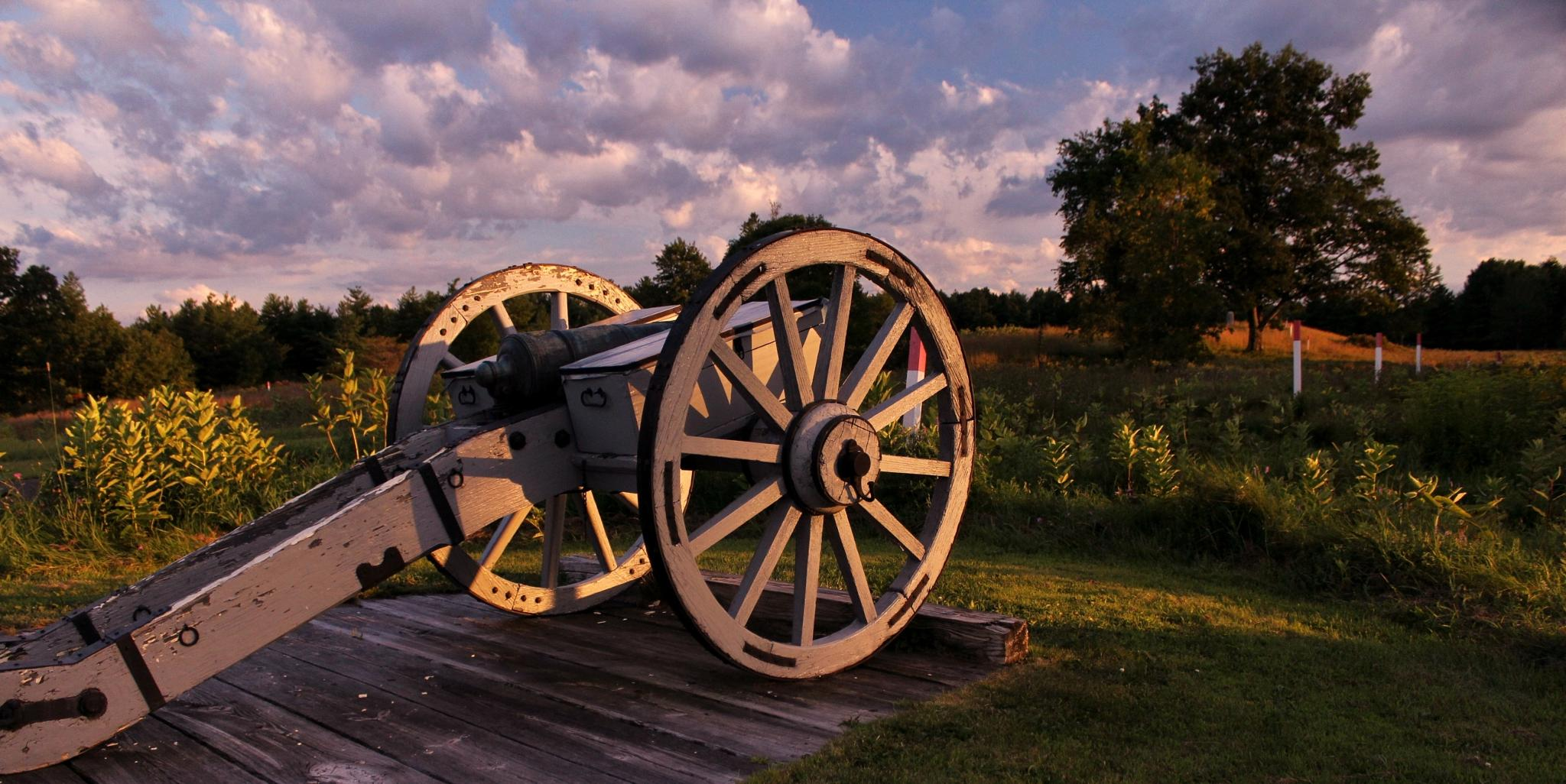 Replica of a Revolutionary War Cannon by debbie.lamontesnyder