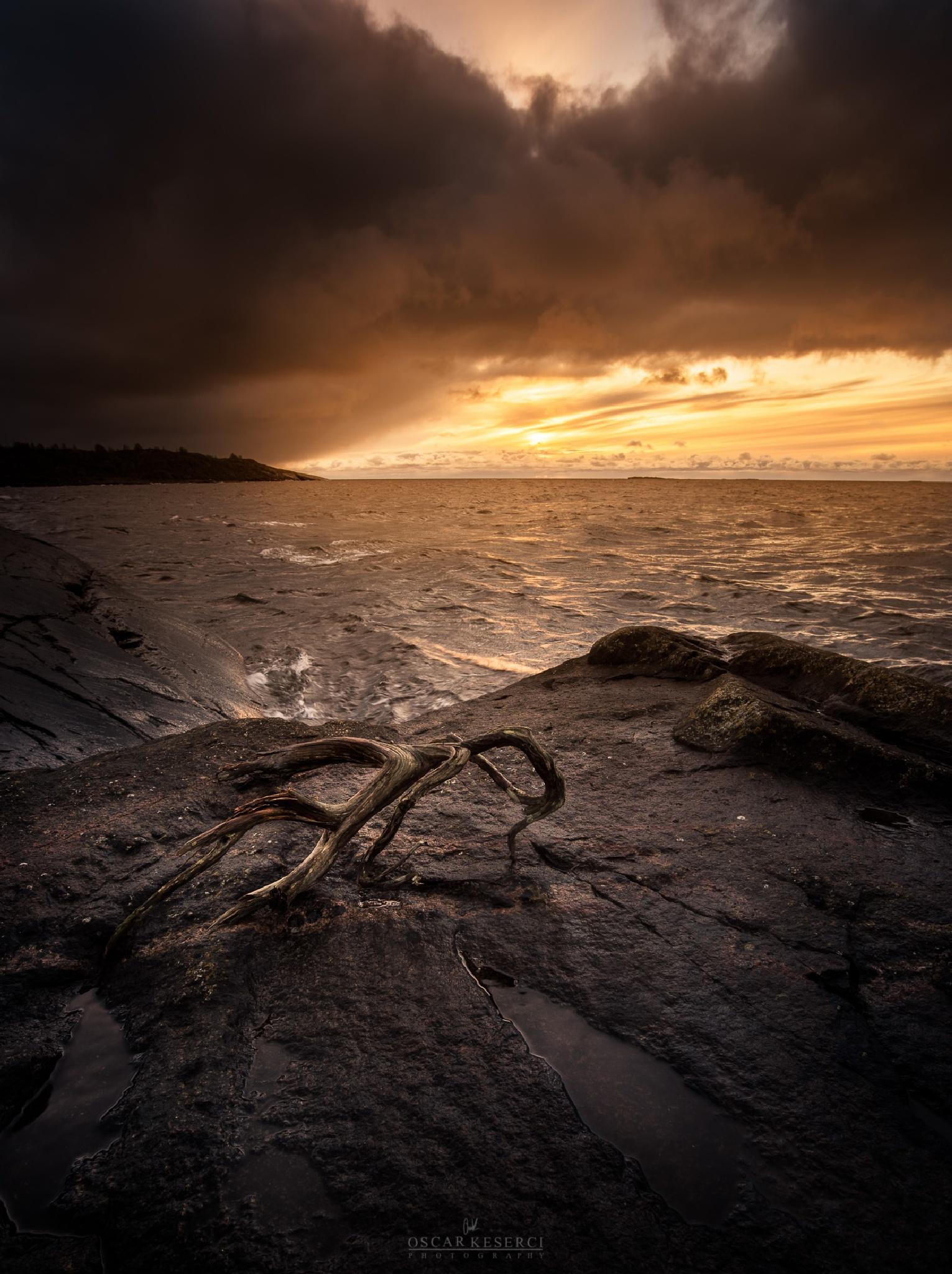 Sunset in Kökar by oscar keserci