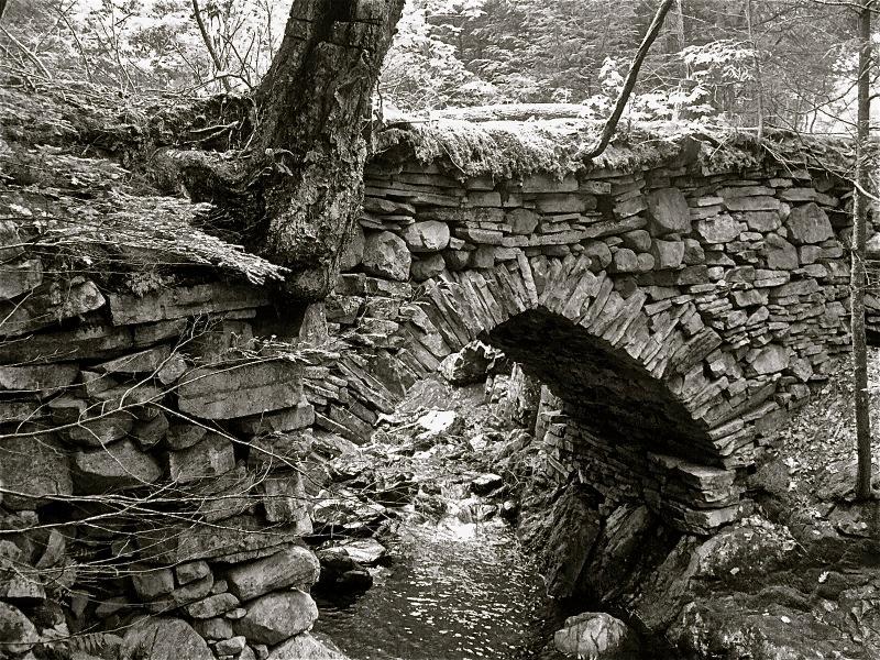 Revolutionary stone bridge by Jeffrey Berry