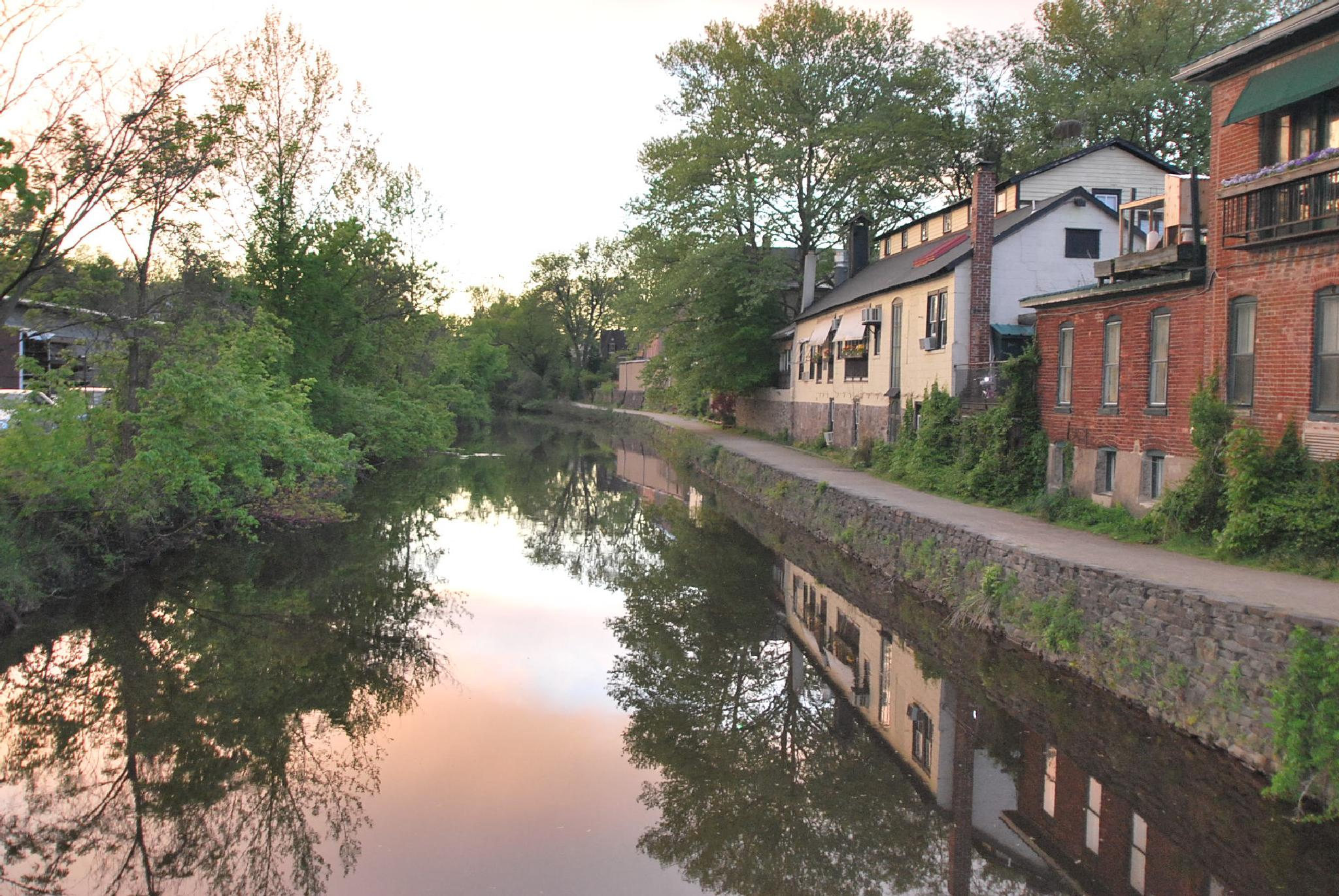 The Canal in Lambertville by Jeffrey Berry
