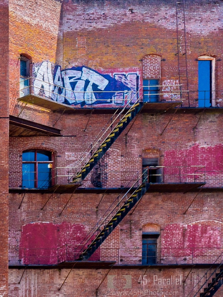 Bricks and Paint by 45th Parallel Photography