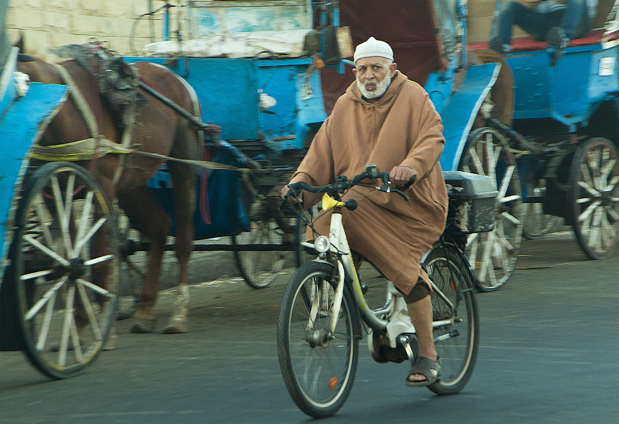 Bicycle man by mohamed.srai.3