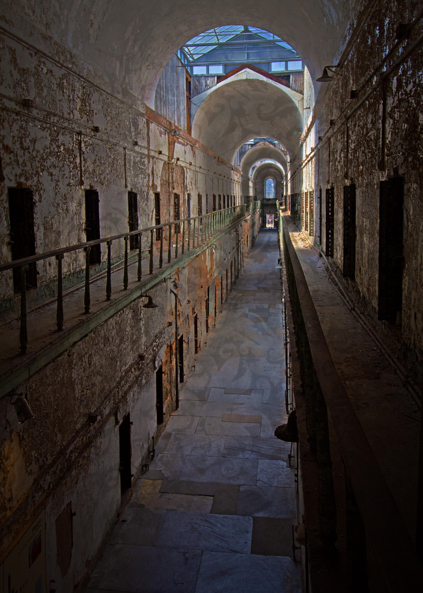 Photo in Interior #abandoned #prisons #life after people