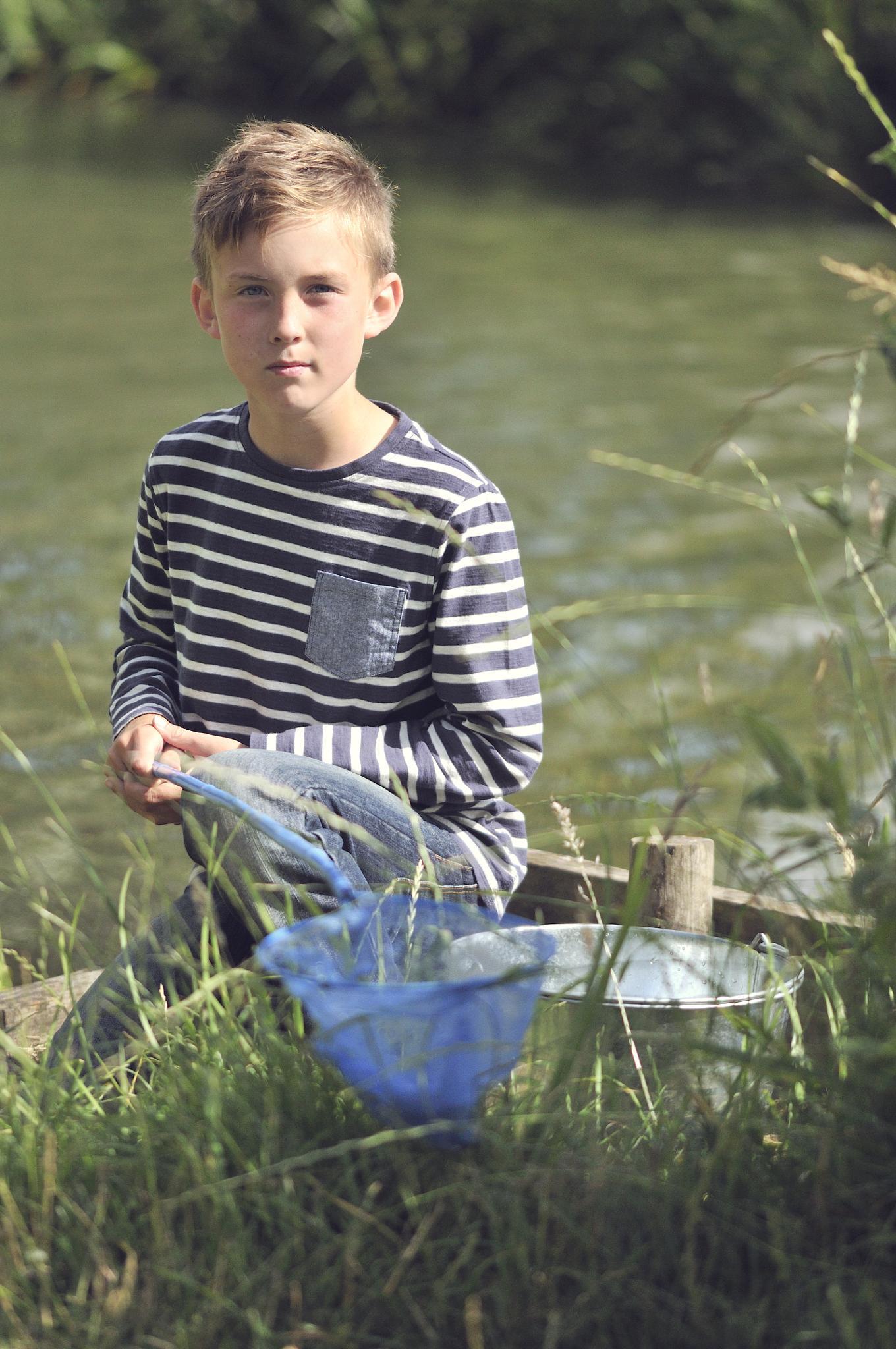 Gone fishing! by Cath Hardwick