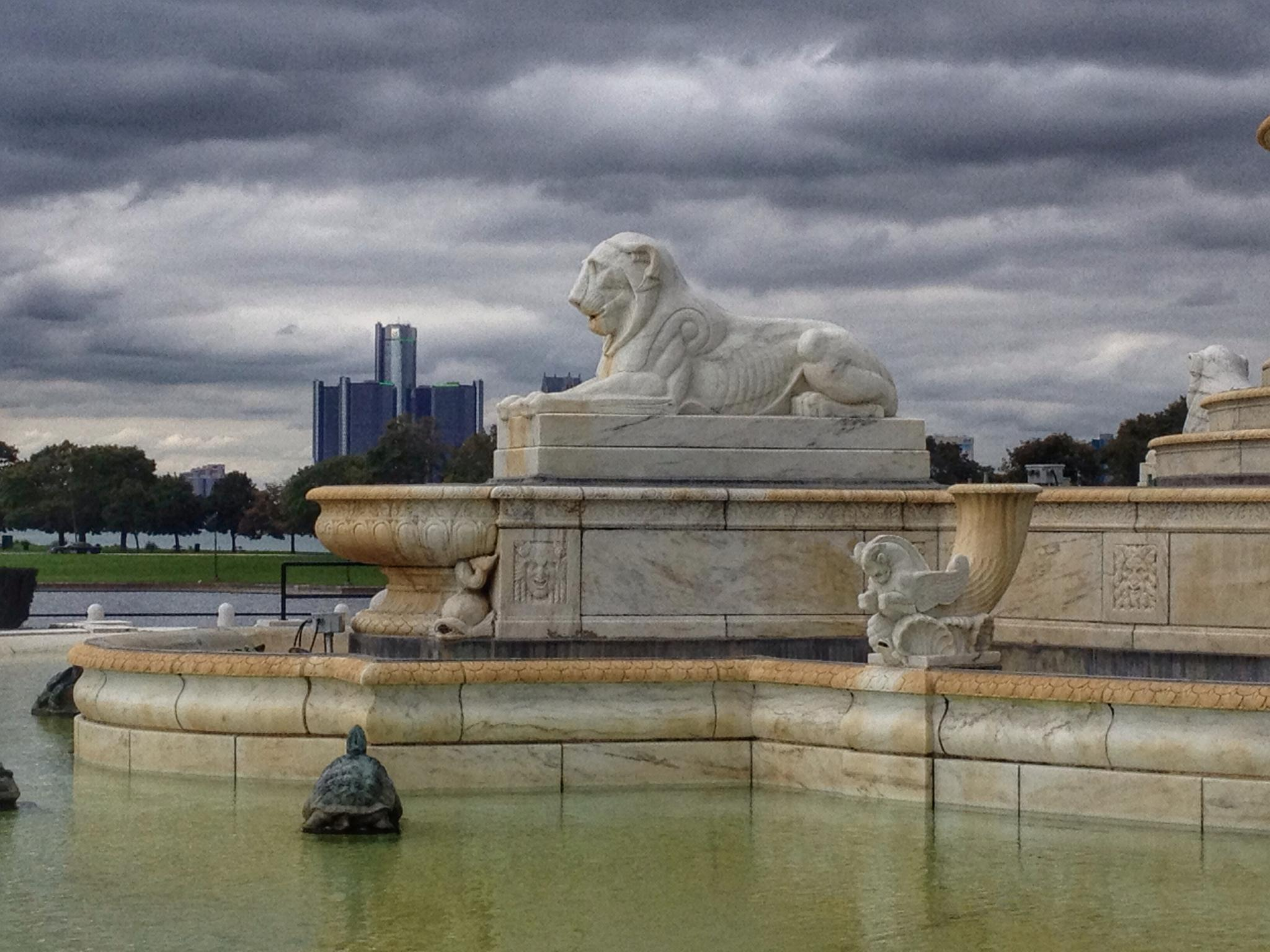 The Lions of Belle Isle. by Jim Richardson