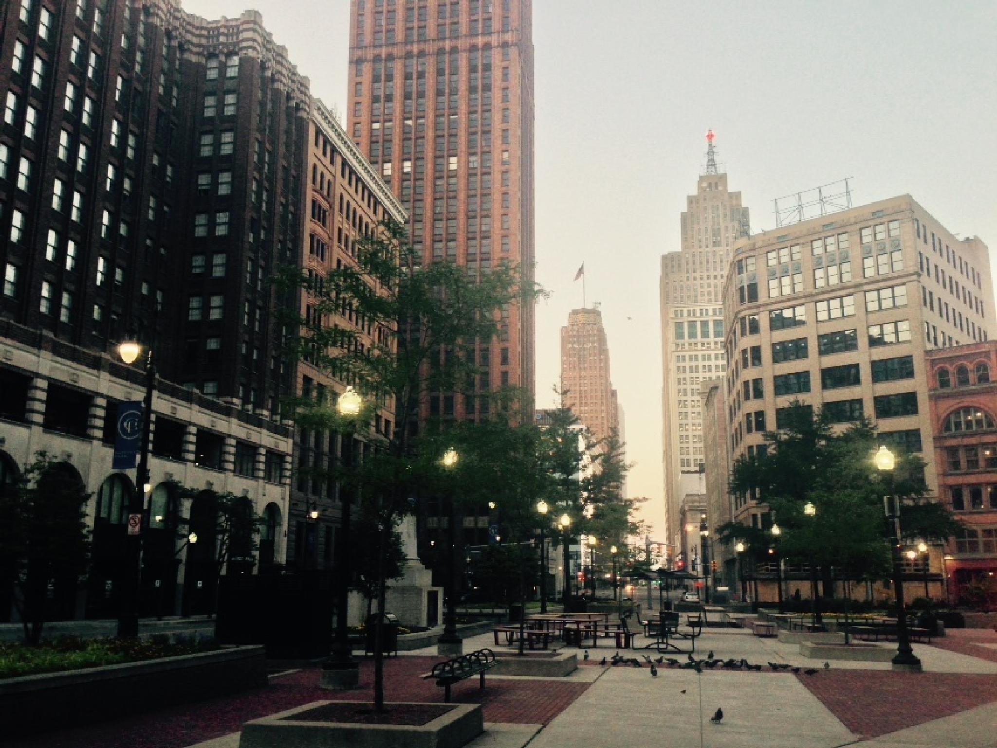 Sunrise at Capitol Park by Jim Richardson