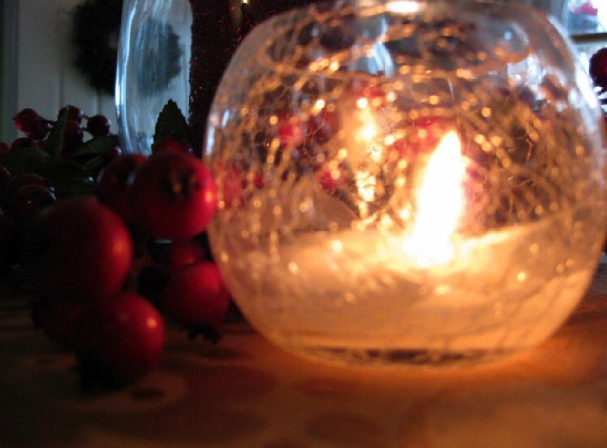 Photo in Still Life #christmas #holidays #candle light