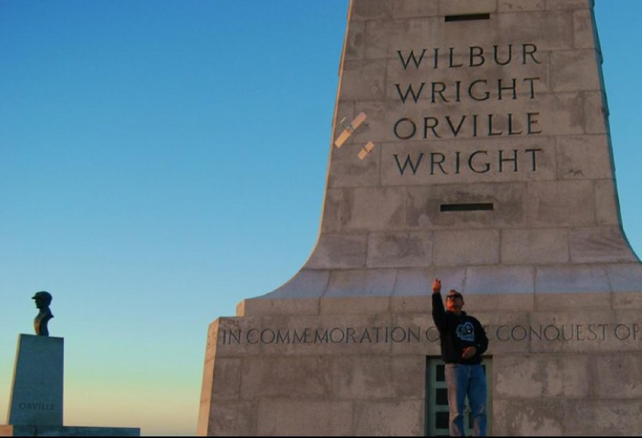Photo in Architecture #wright brothers memorial #history #flight #monument #north carolina #obx #outer banks