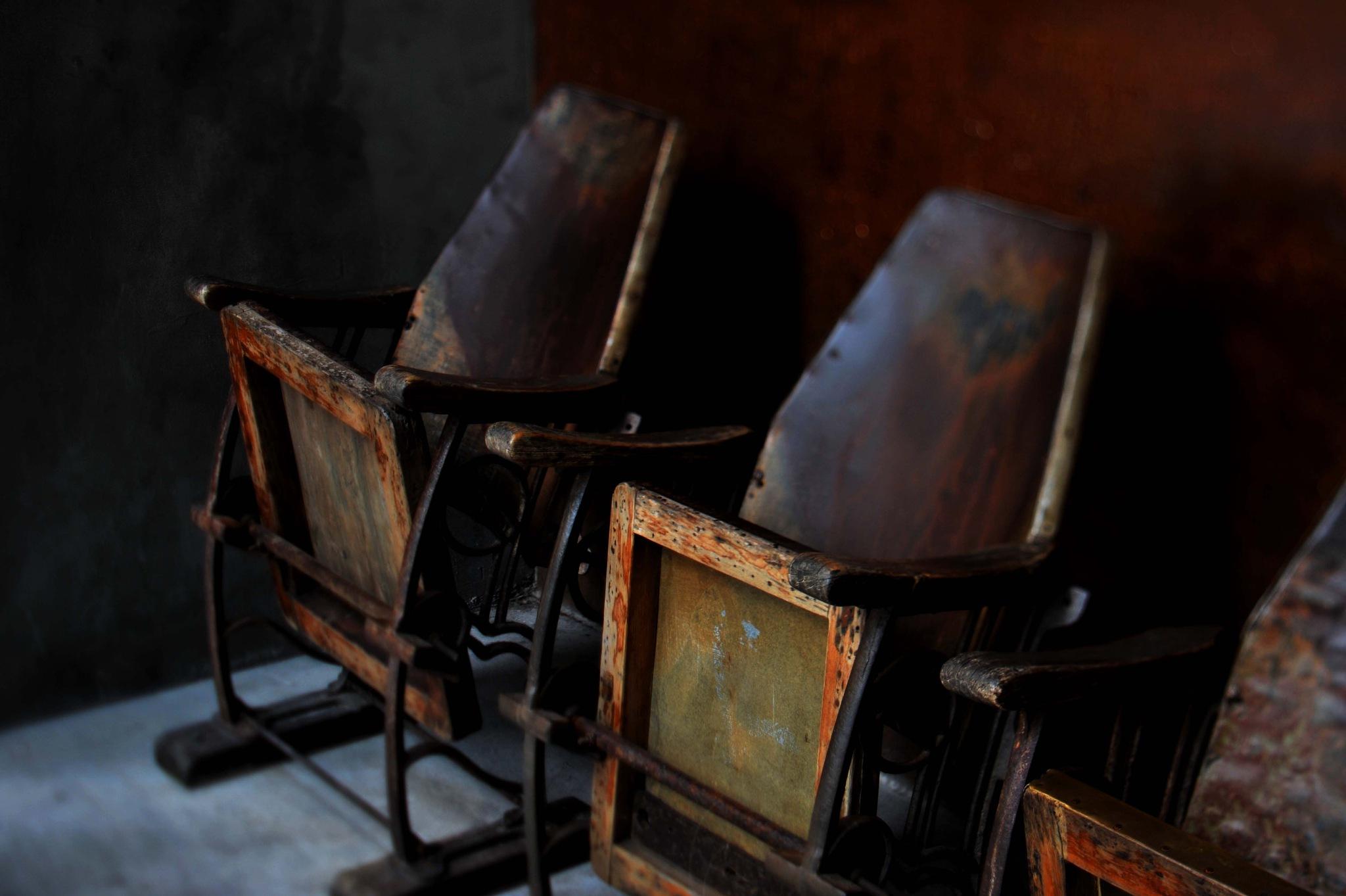 ...old cinema chairs... by cyccanhk