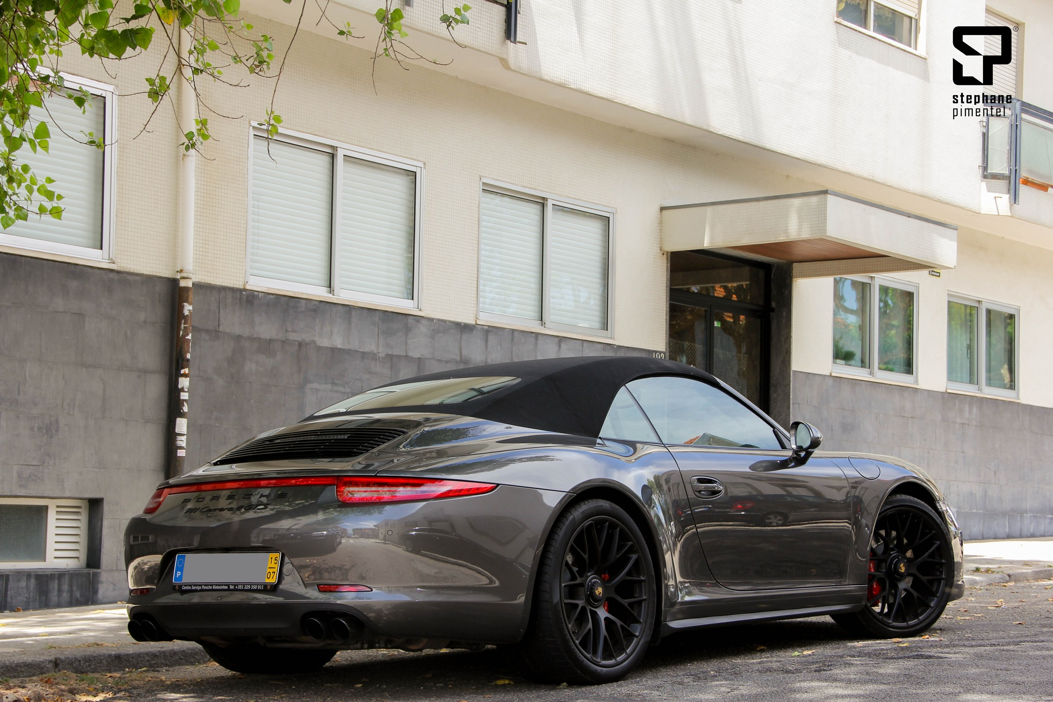 Porsche 911 Carrera 4 GTS by Stephane Pimentel Photography