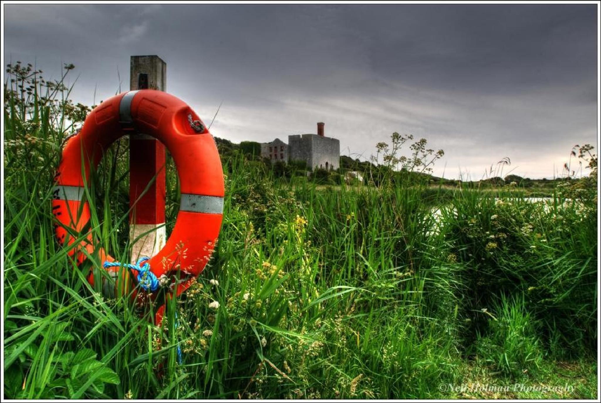Lifebuoy, Lime Works Aberthaw by Neil Holman