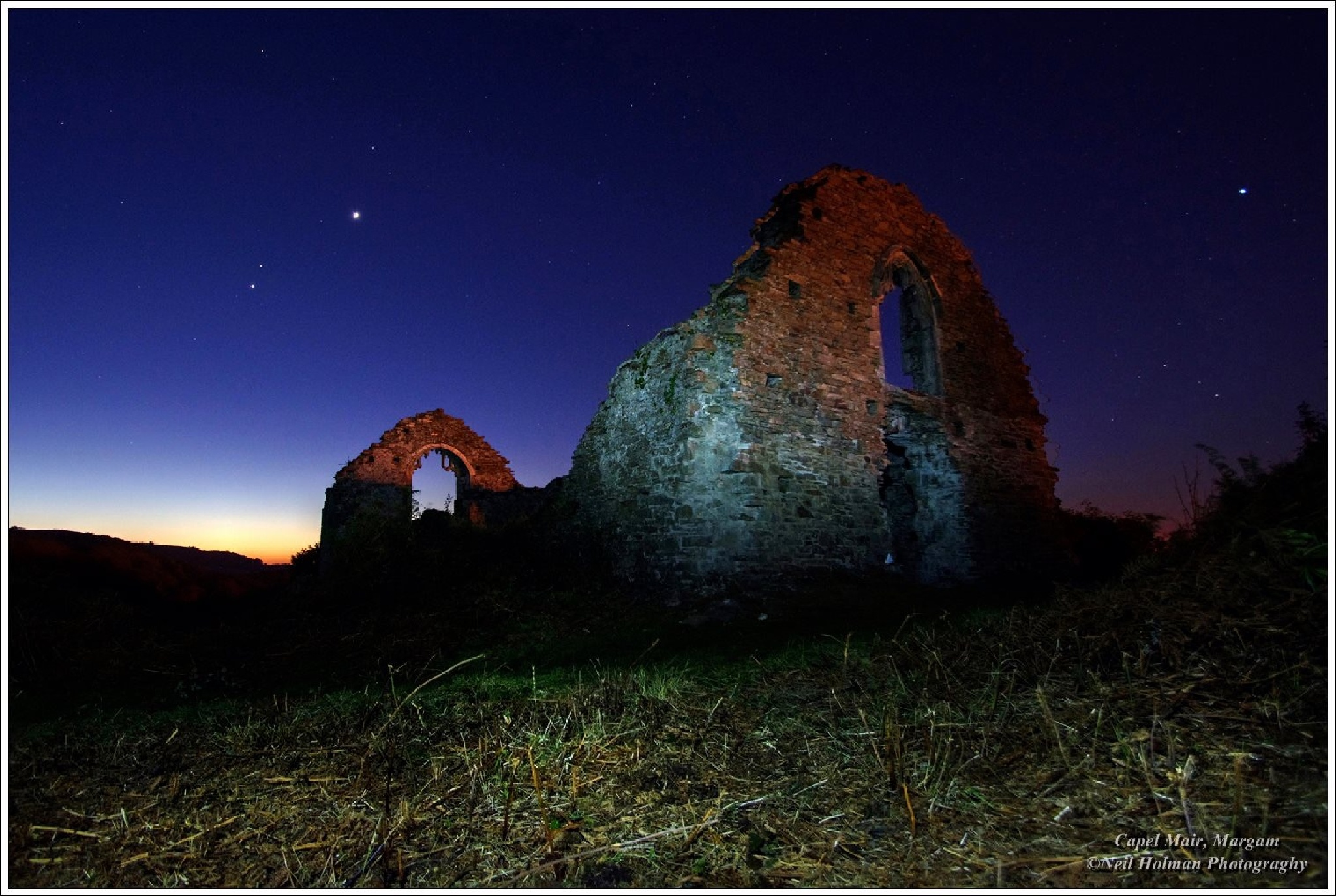 Capel Mair, Margam.  by Neil Holman