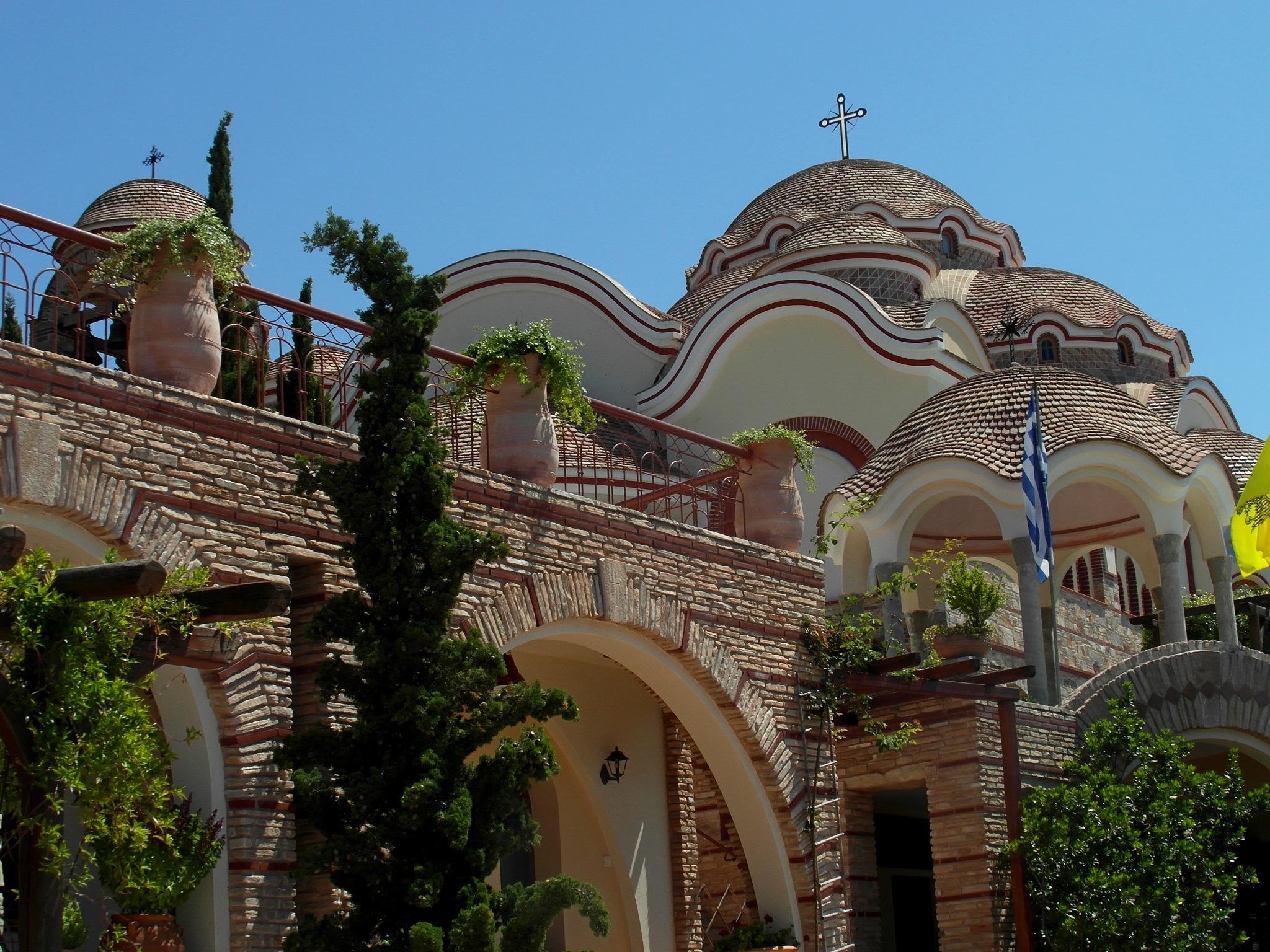 Church in Sf.Michail monastry.Thassos by staicugheorghe3