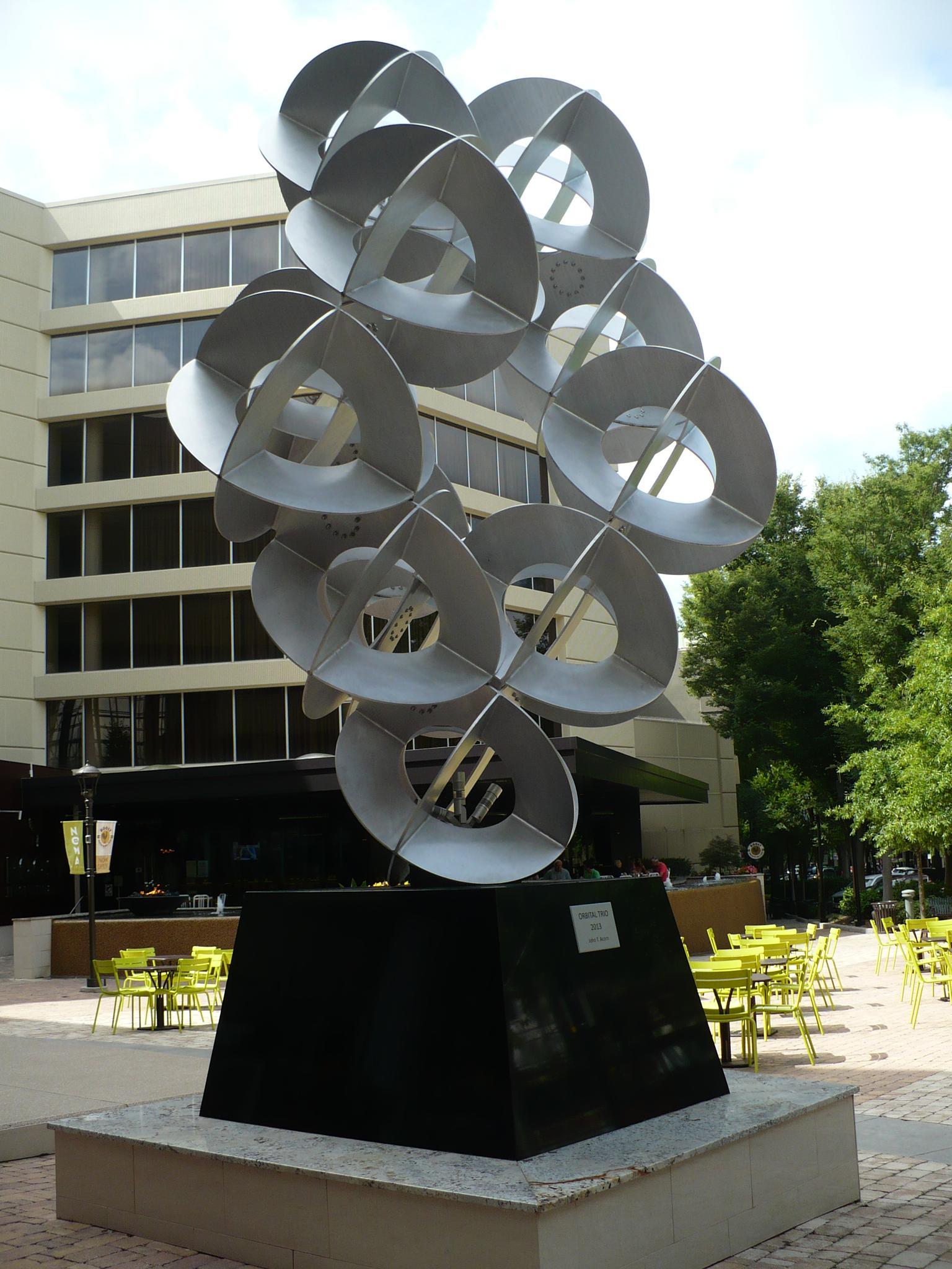 Greenville, SC - Sculpture - 2 by Joan Barrett