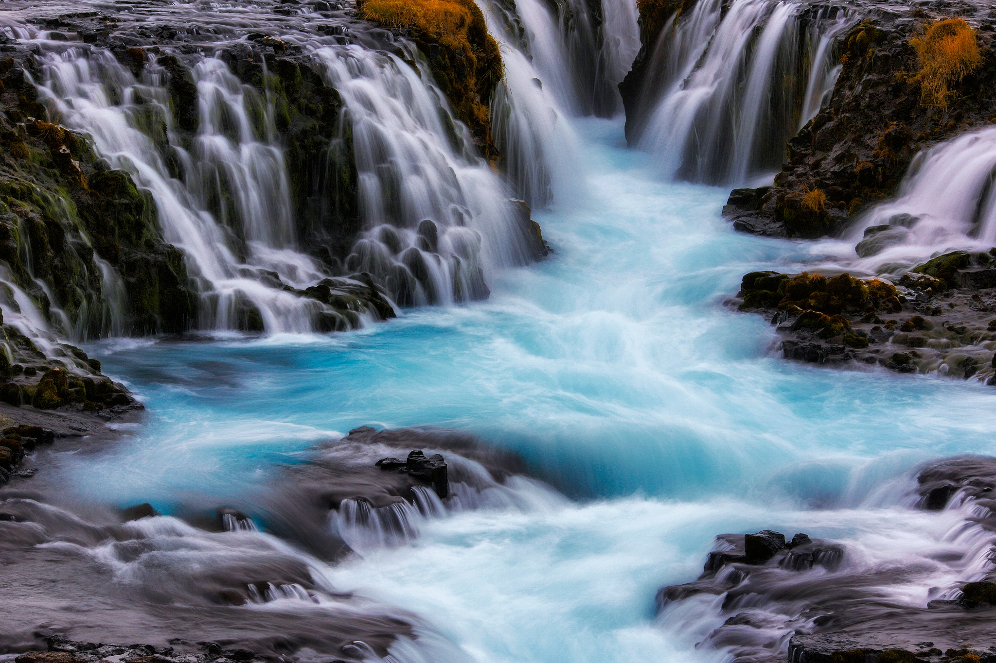 The Blue Waterfall by Yiannis Pavlis172