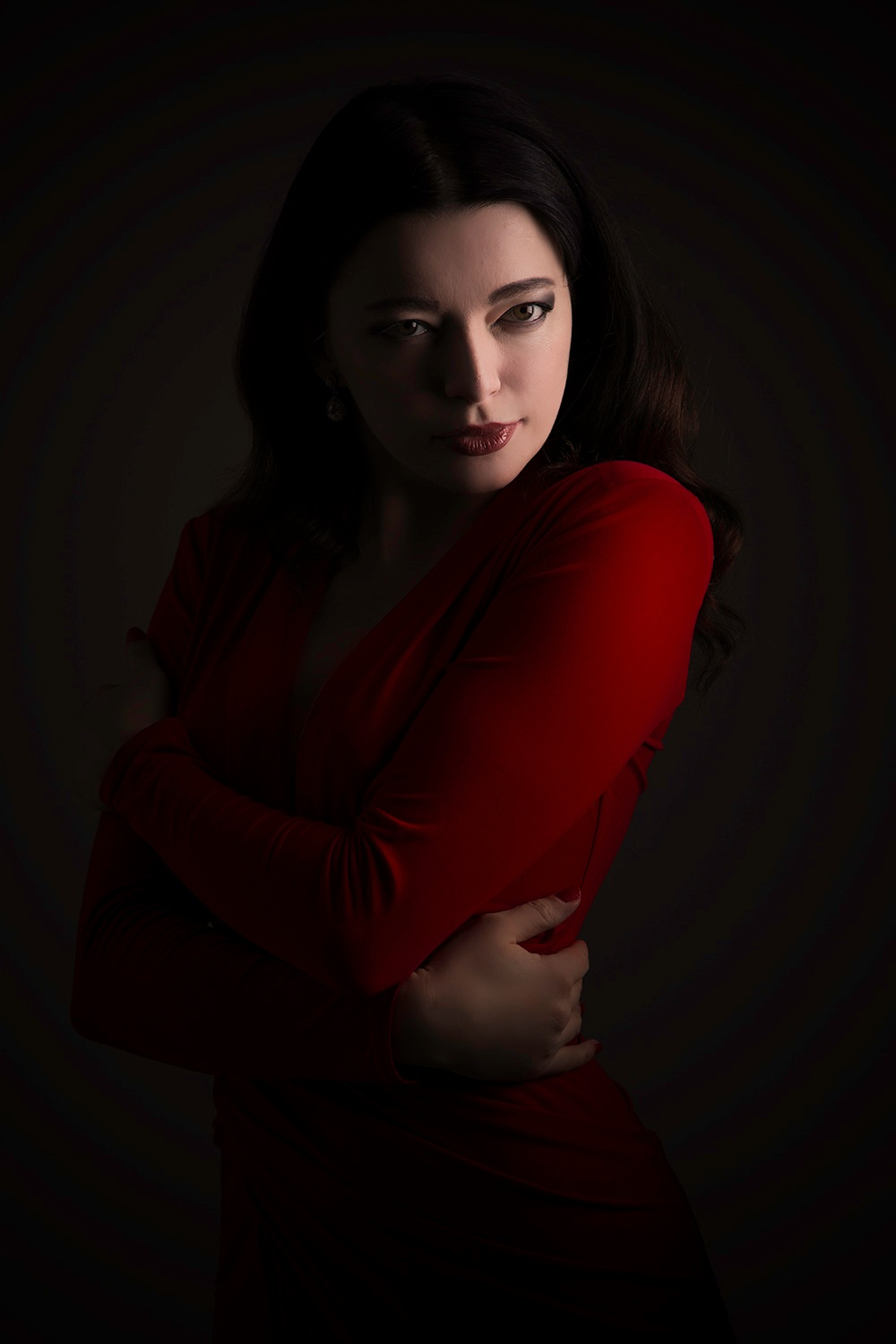 red dress by Kevin Robertson