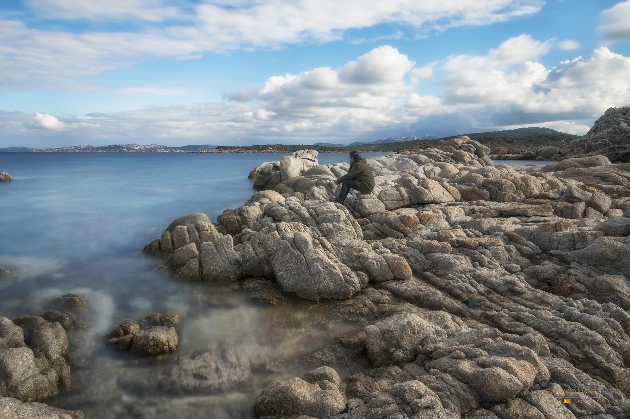 On the rocks by Maurizio Mameli