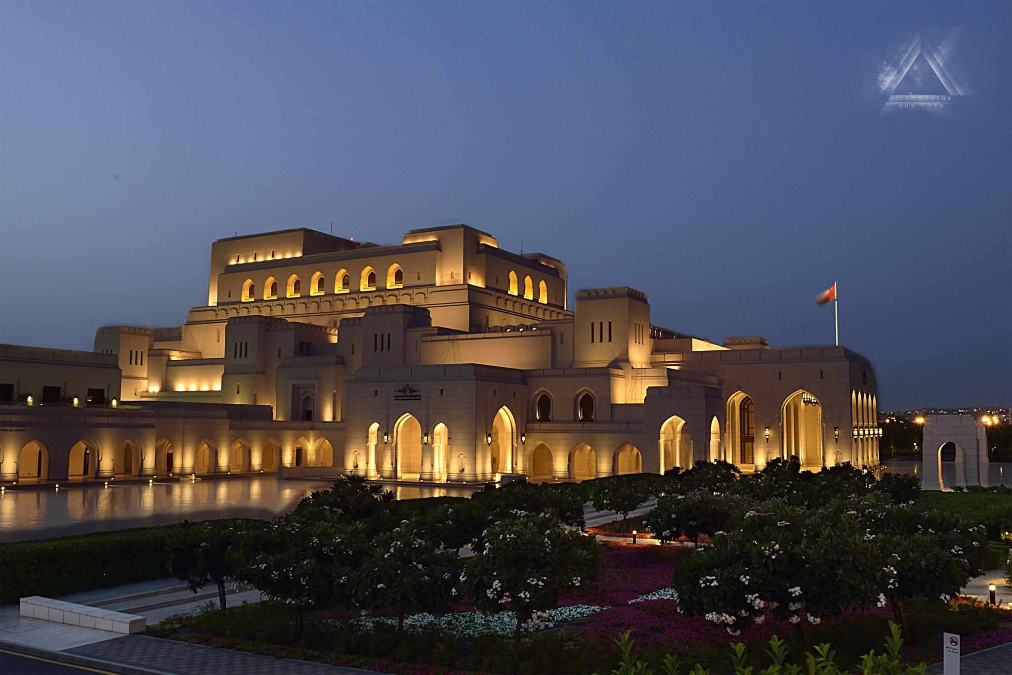 ROYAL OPERA HOUSE - MUSCAT by prismphotos - sunil rao