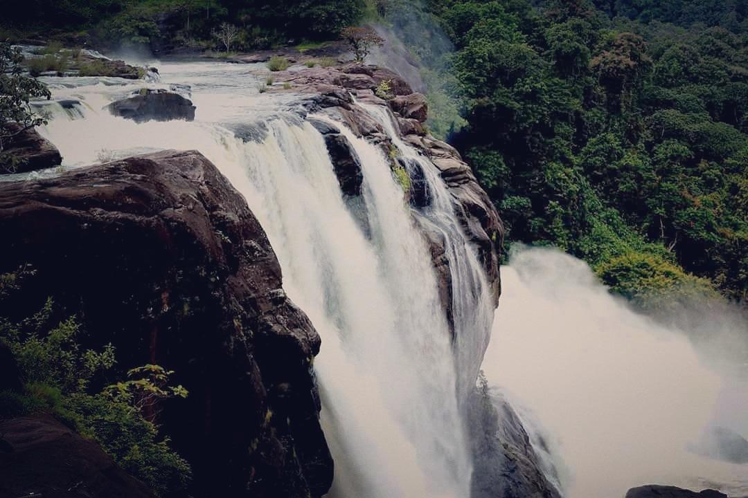 Athirappilly water fall.. Random click by kannan gangadharan