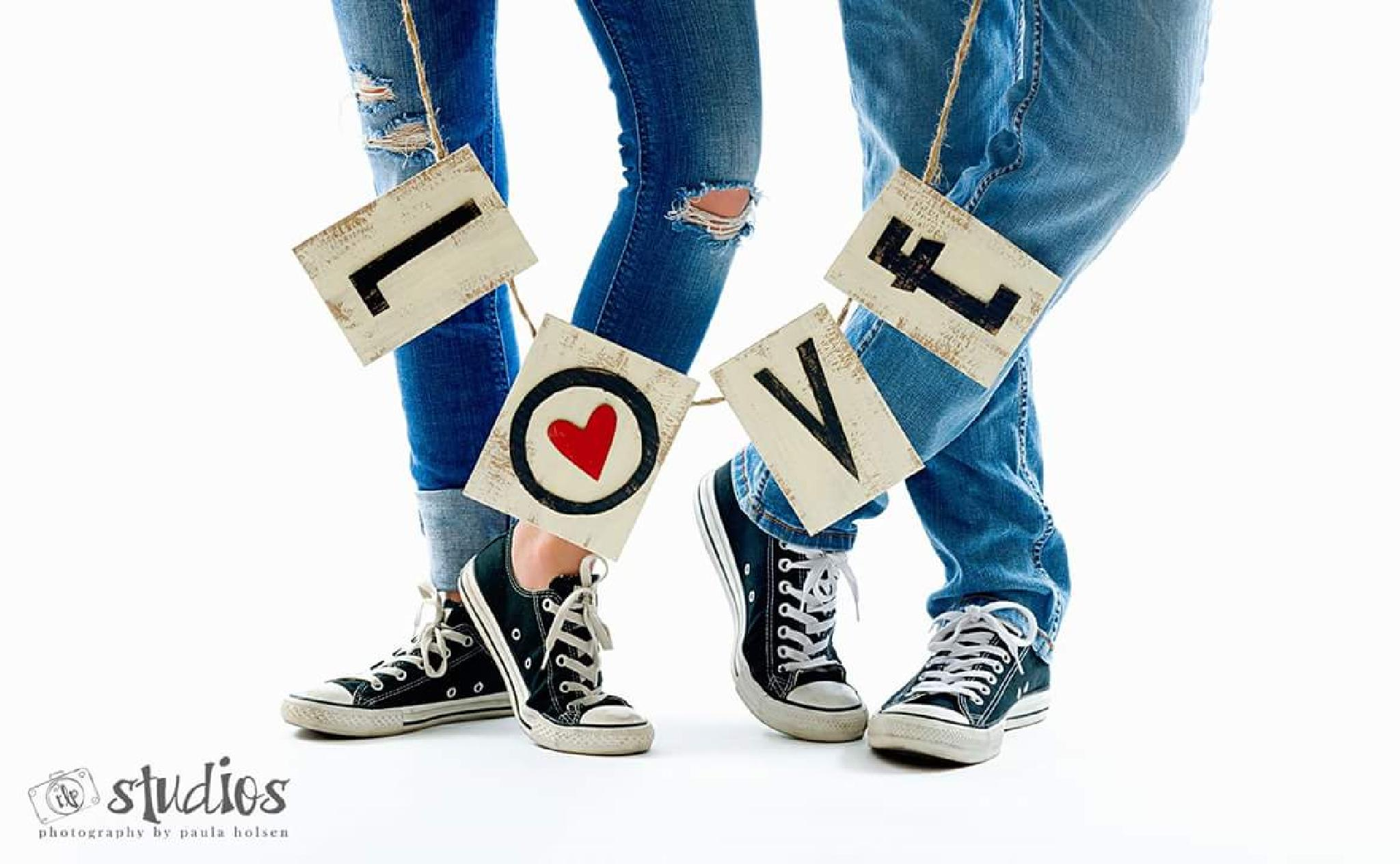 All you need is love! by Paula Malley