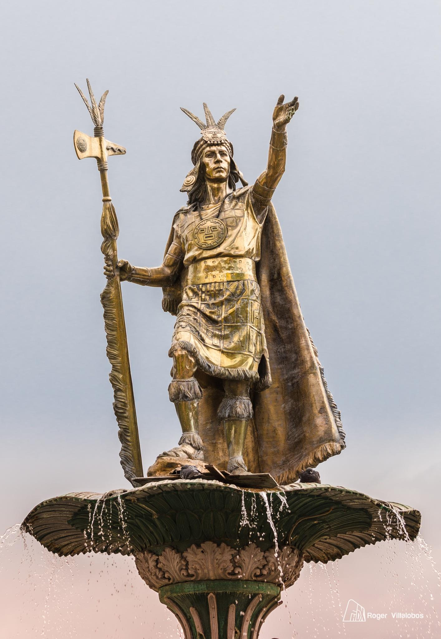 Inca Pachacutec by Roger Villalobos Medina