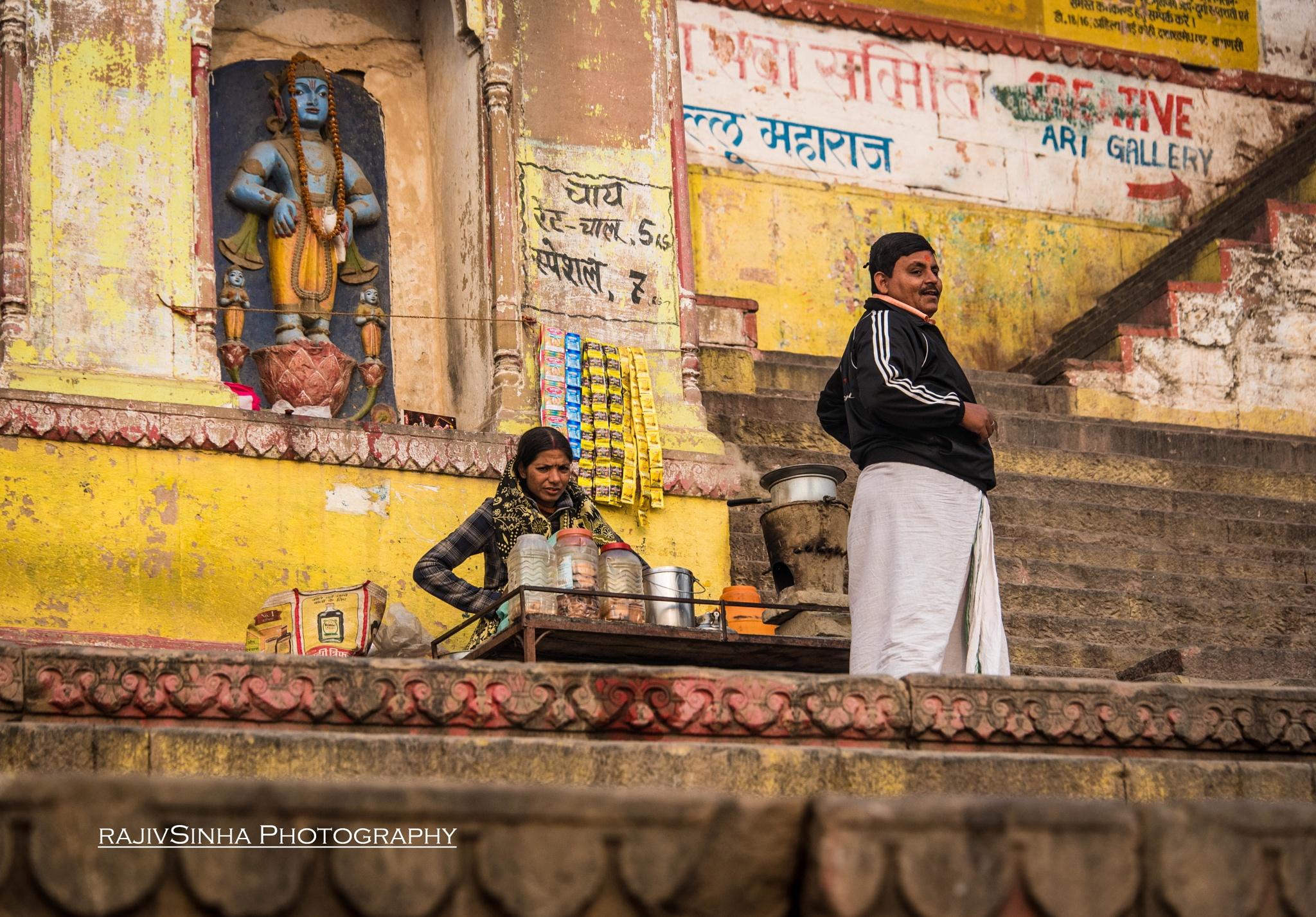 Man..Woman and God by Rajiv Sinha Photography