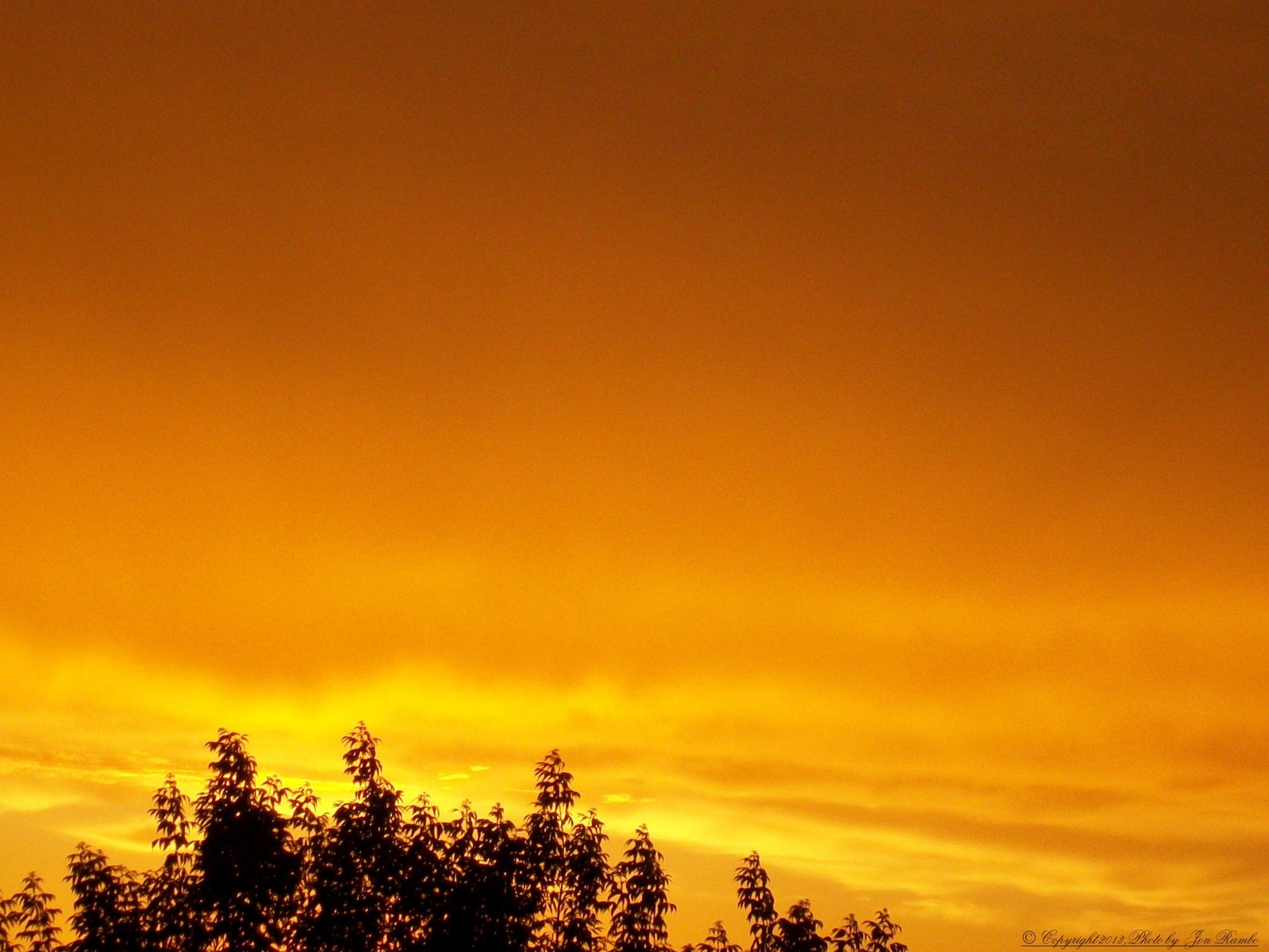 Golden sunset. by jon.rambo.37819
